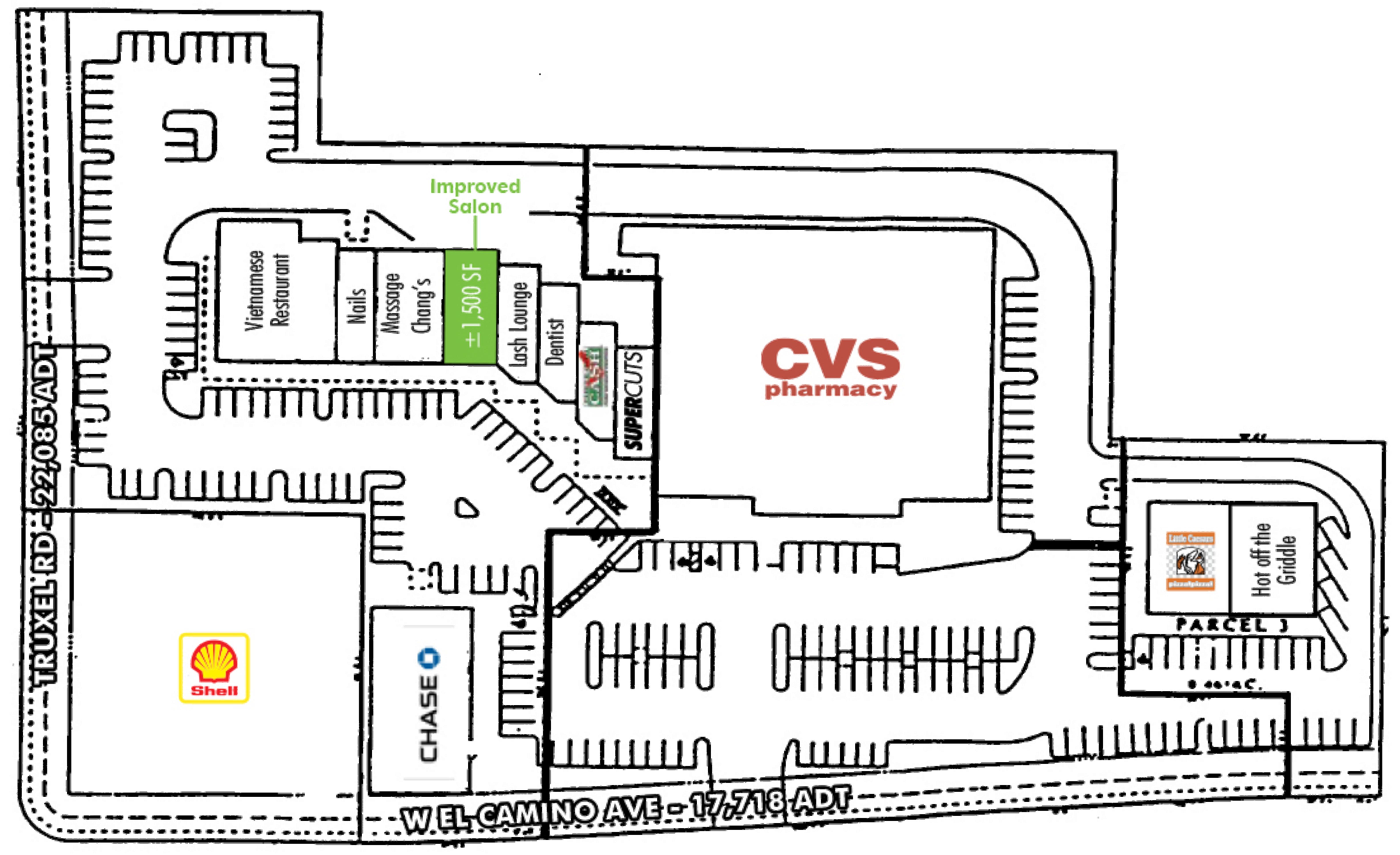 Stone Creek Center: site plan