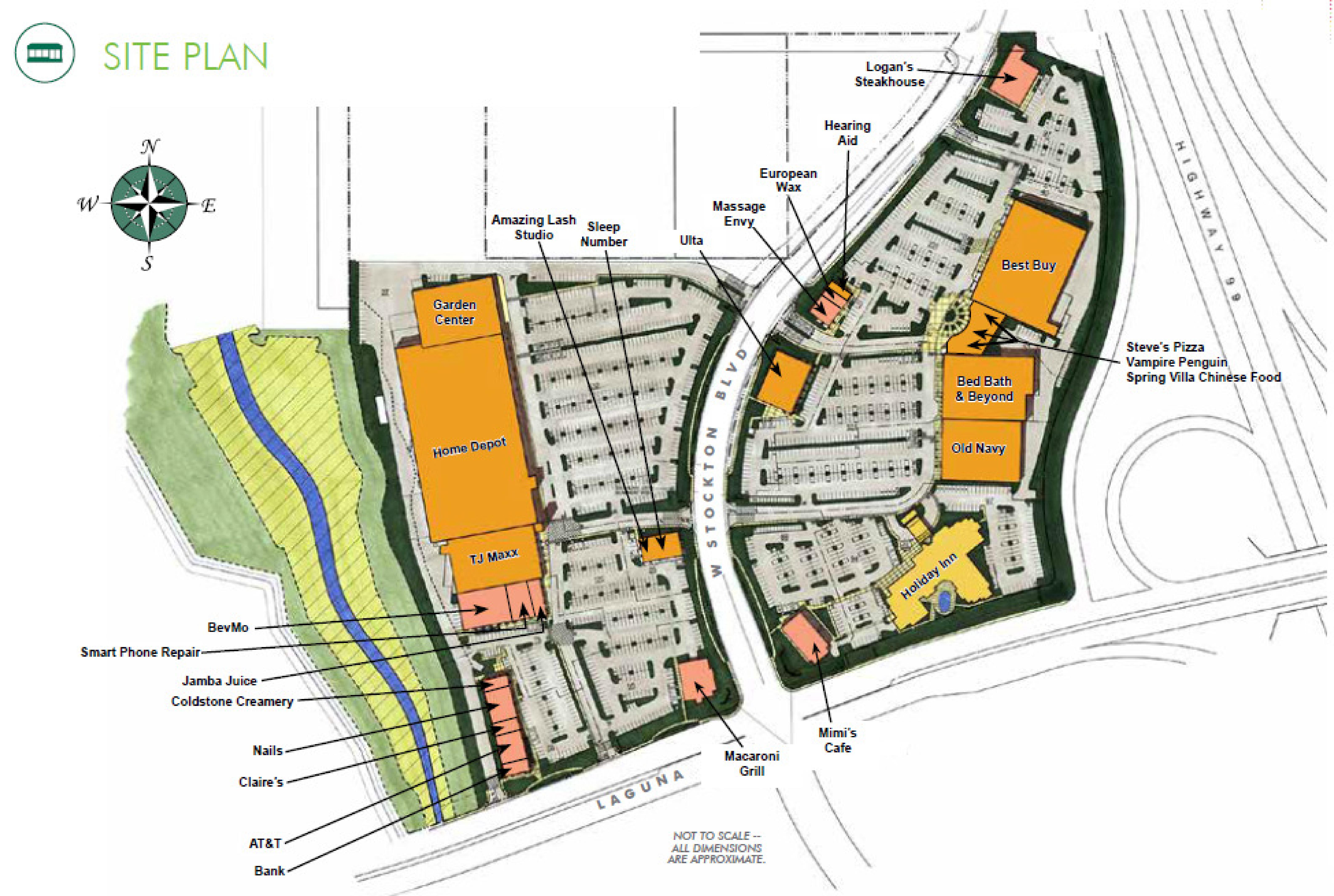 Laguna Gateway Phase I: site plan
