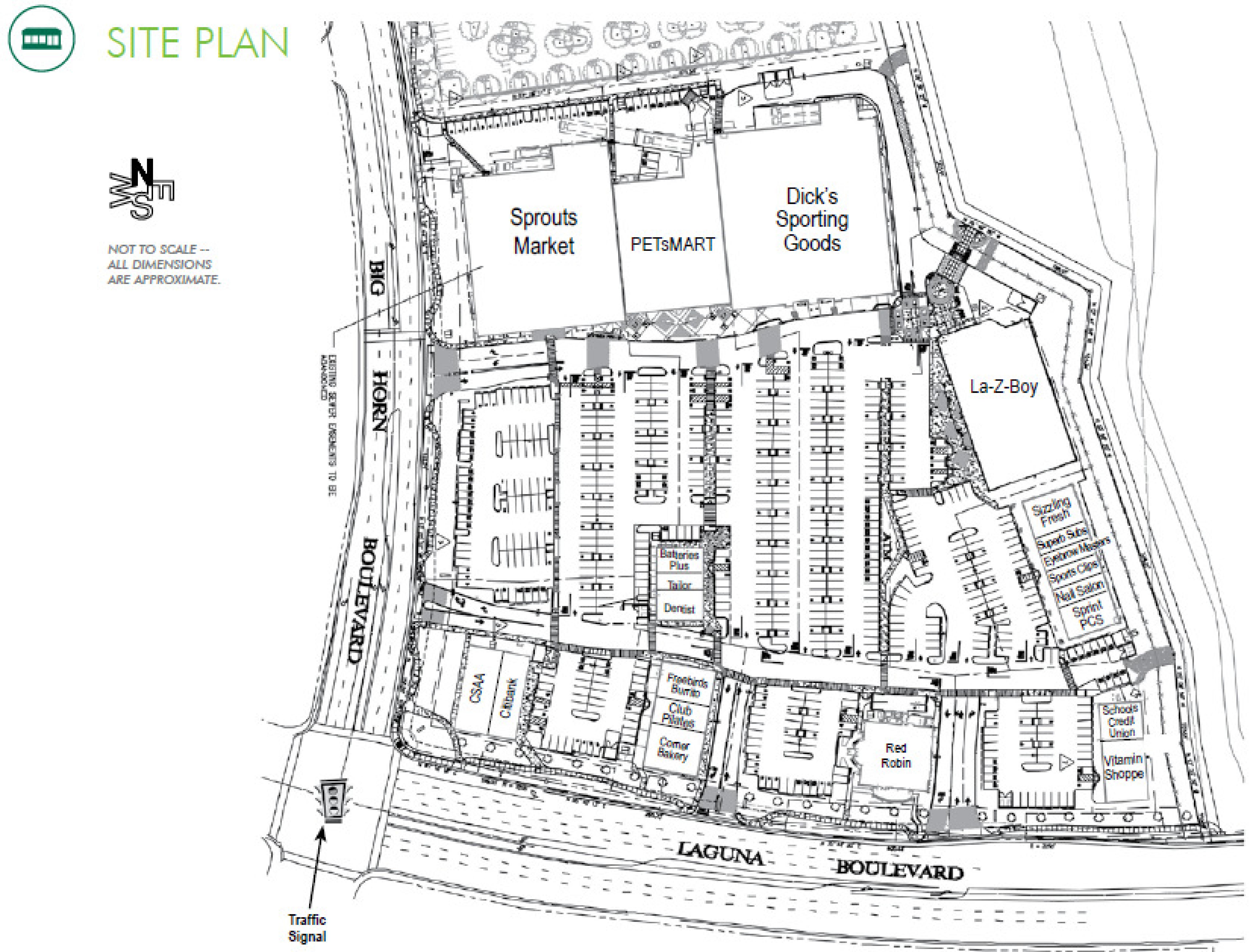 Laguna Gateway Phase II: site plan