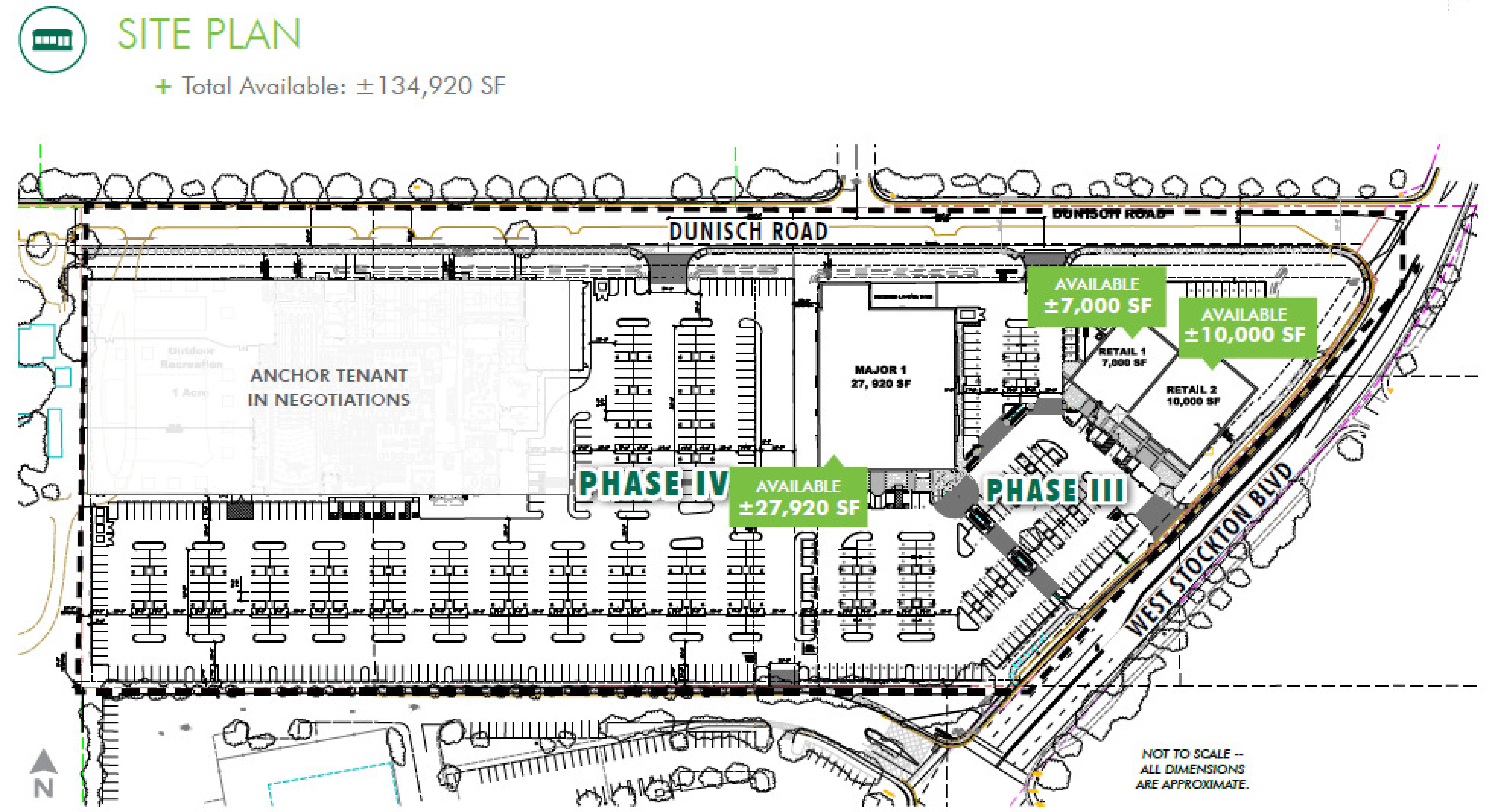 Laguna Gateway, Phase III & IV: site plan