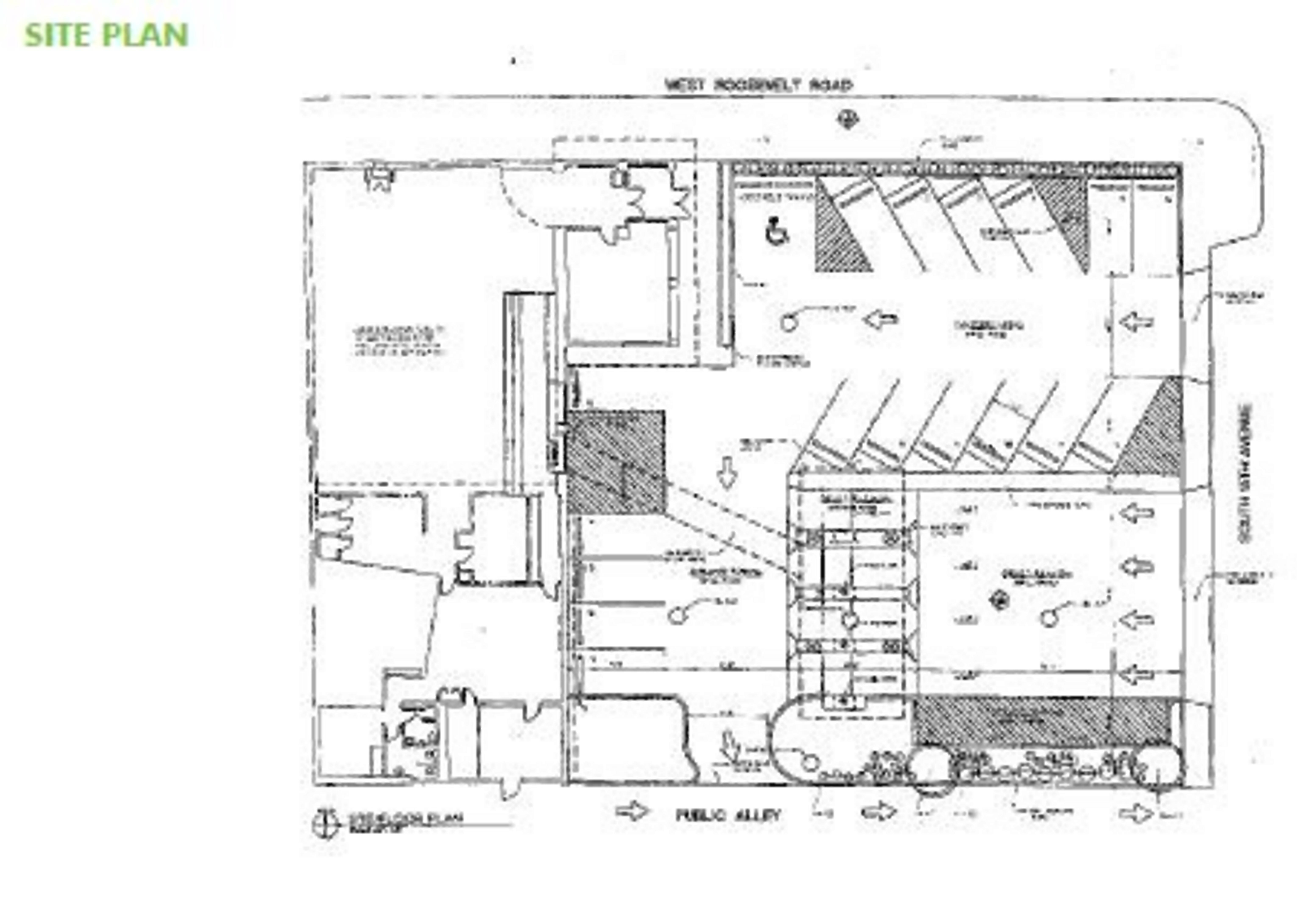 1500 Roosevelt Rd.: site plan