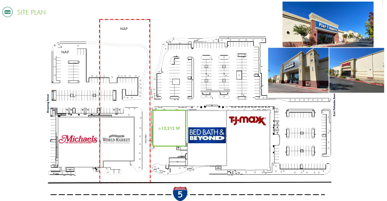 1120 Hilltop Dr: site plan