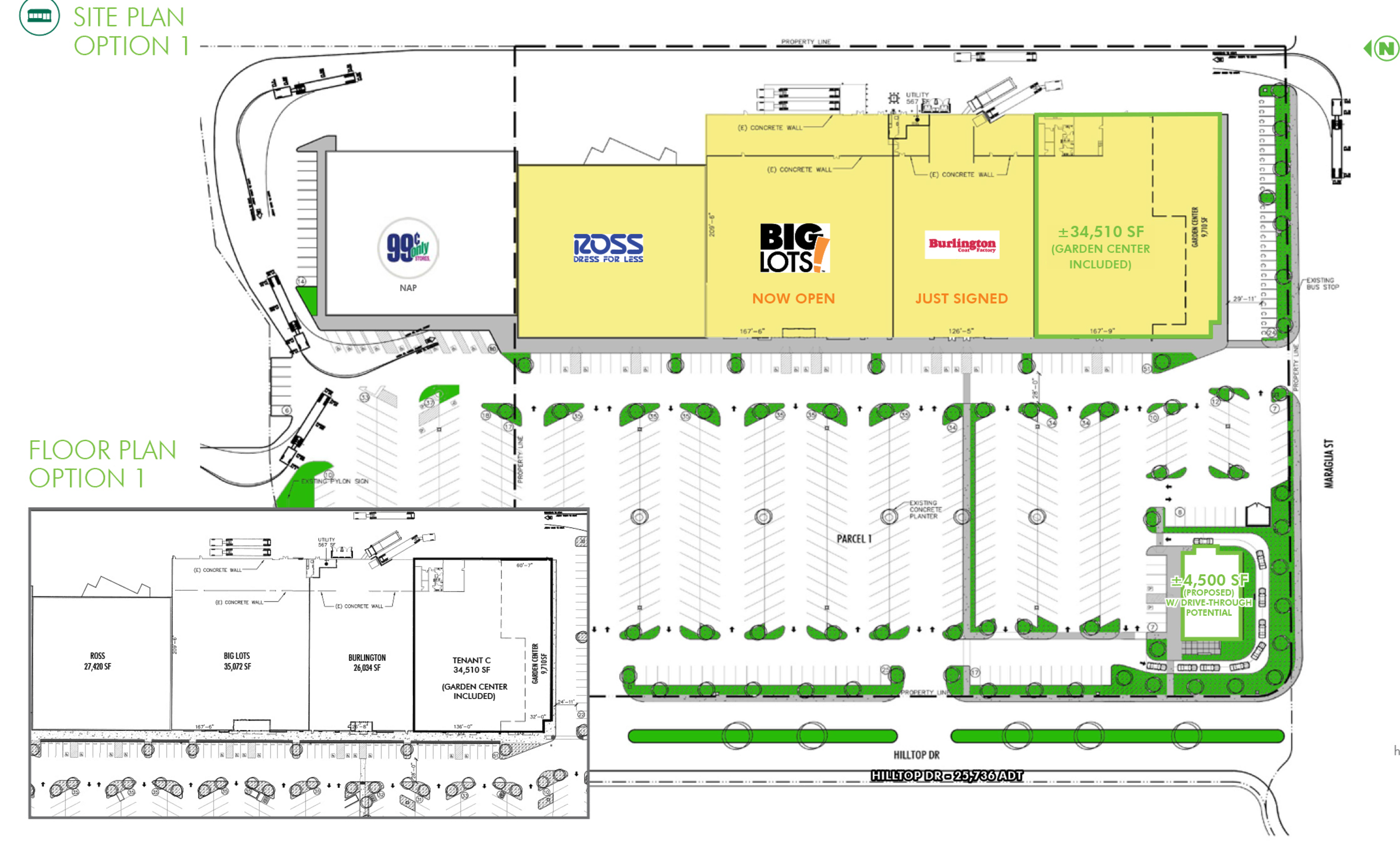 Cascade Station: site plan