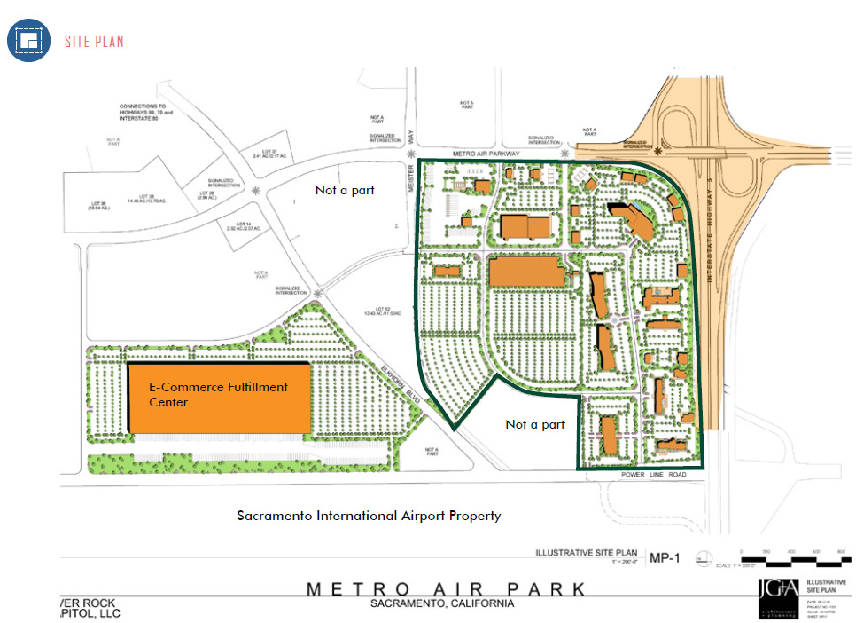 Metro Air Park: site plan