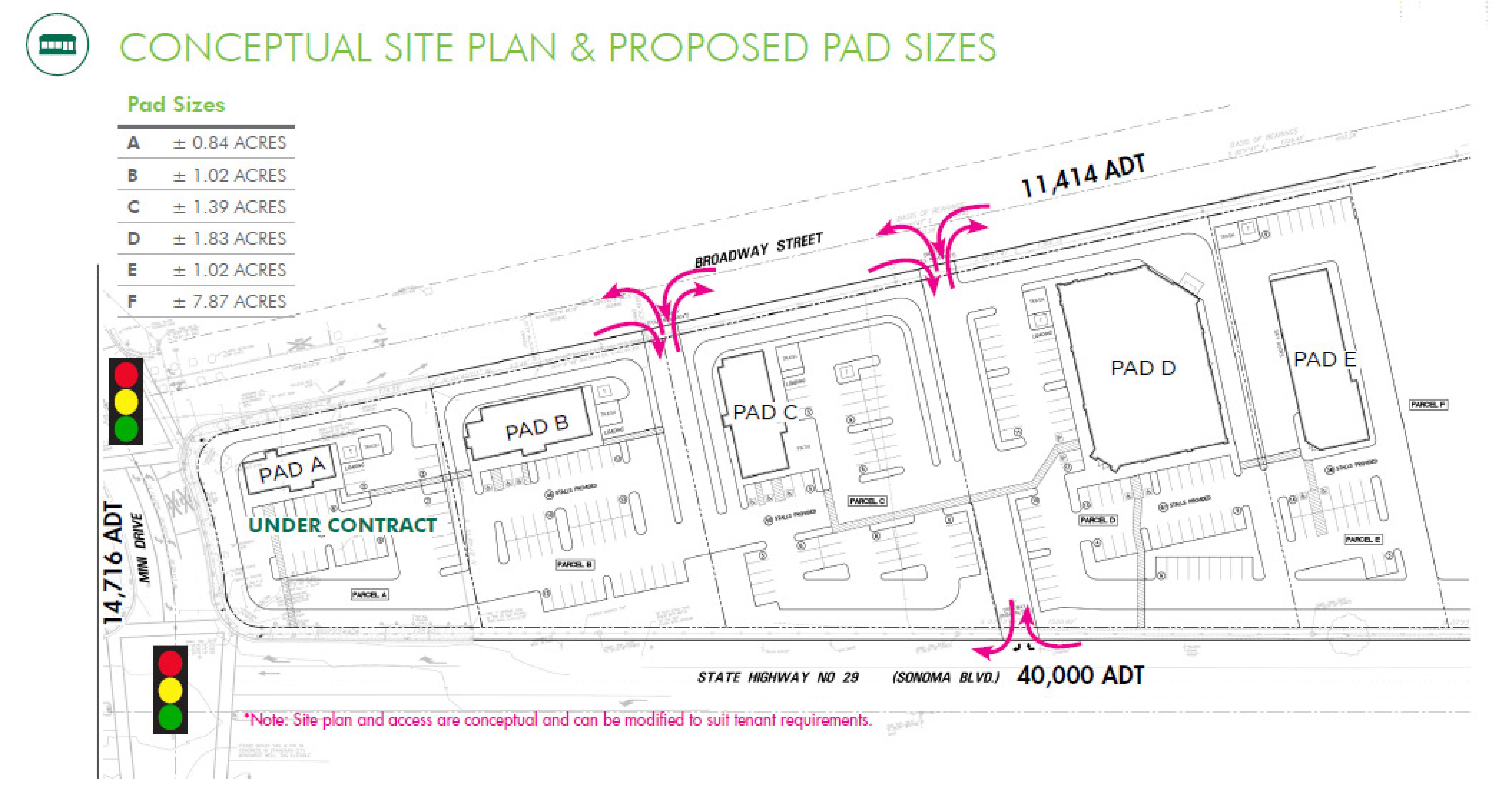 Sonoma Gateway: site plan