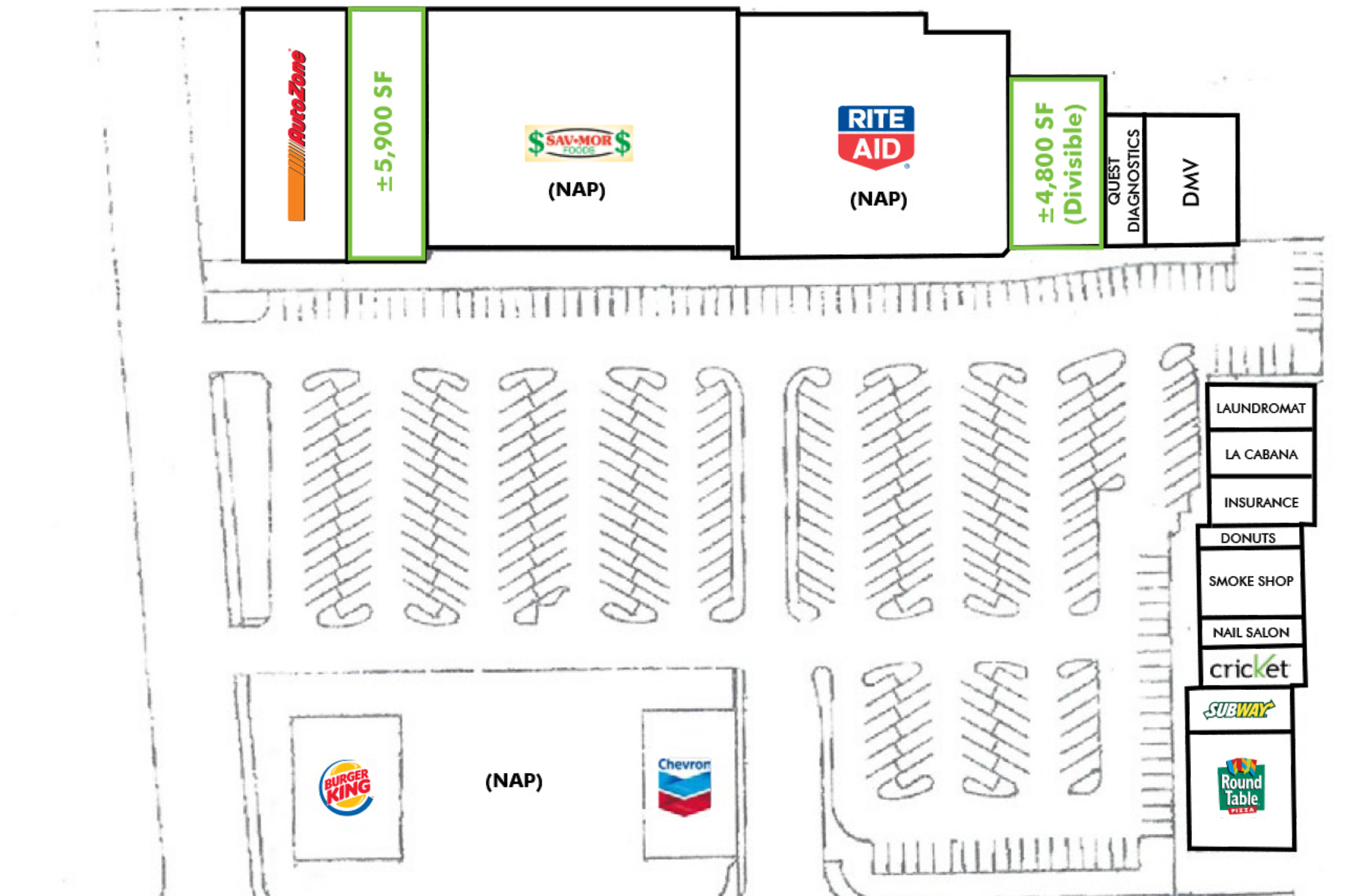 Town & Country Center: site plan