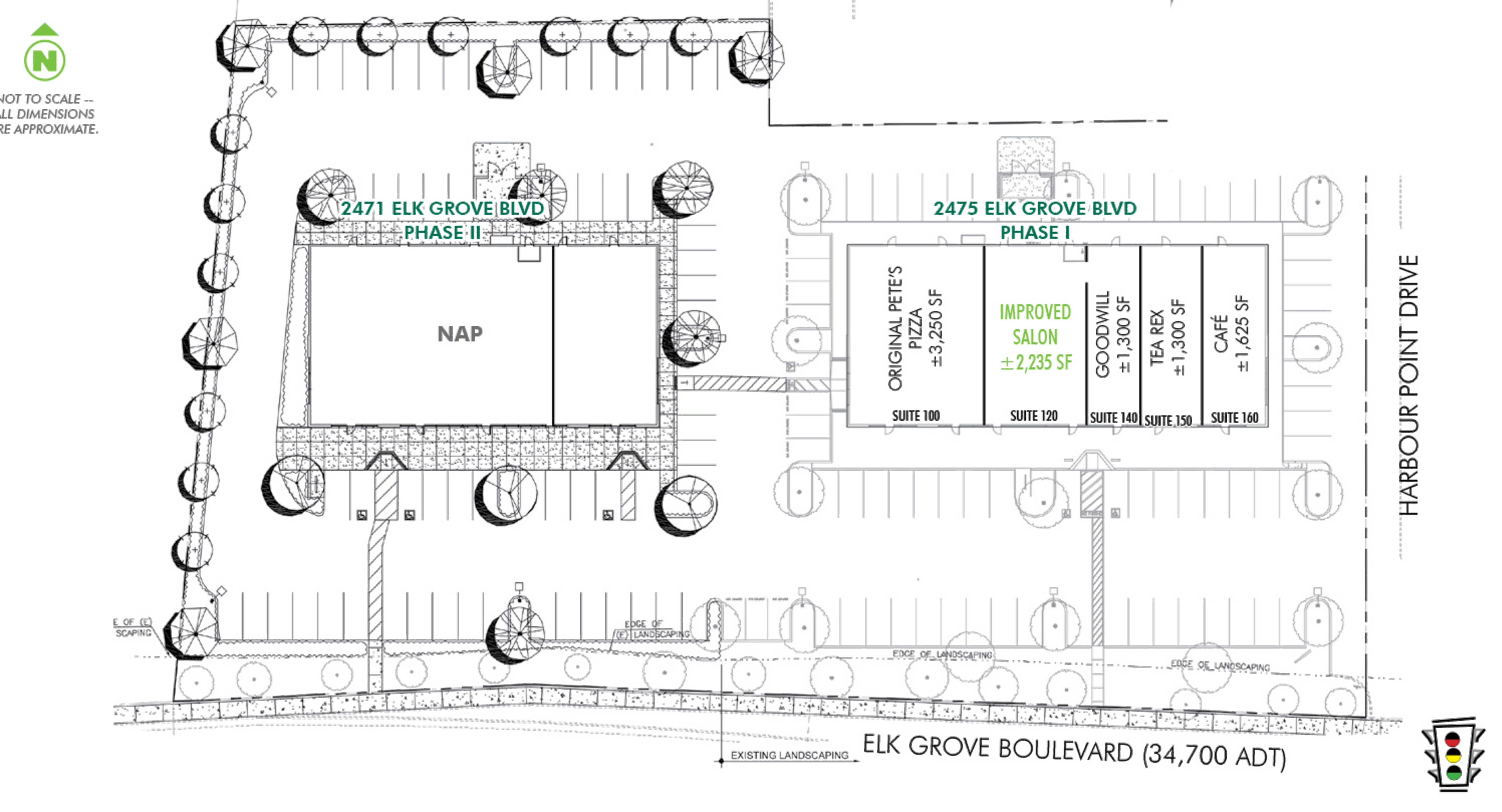 Harbour Palms: site plan