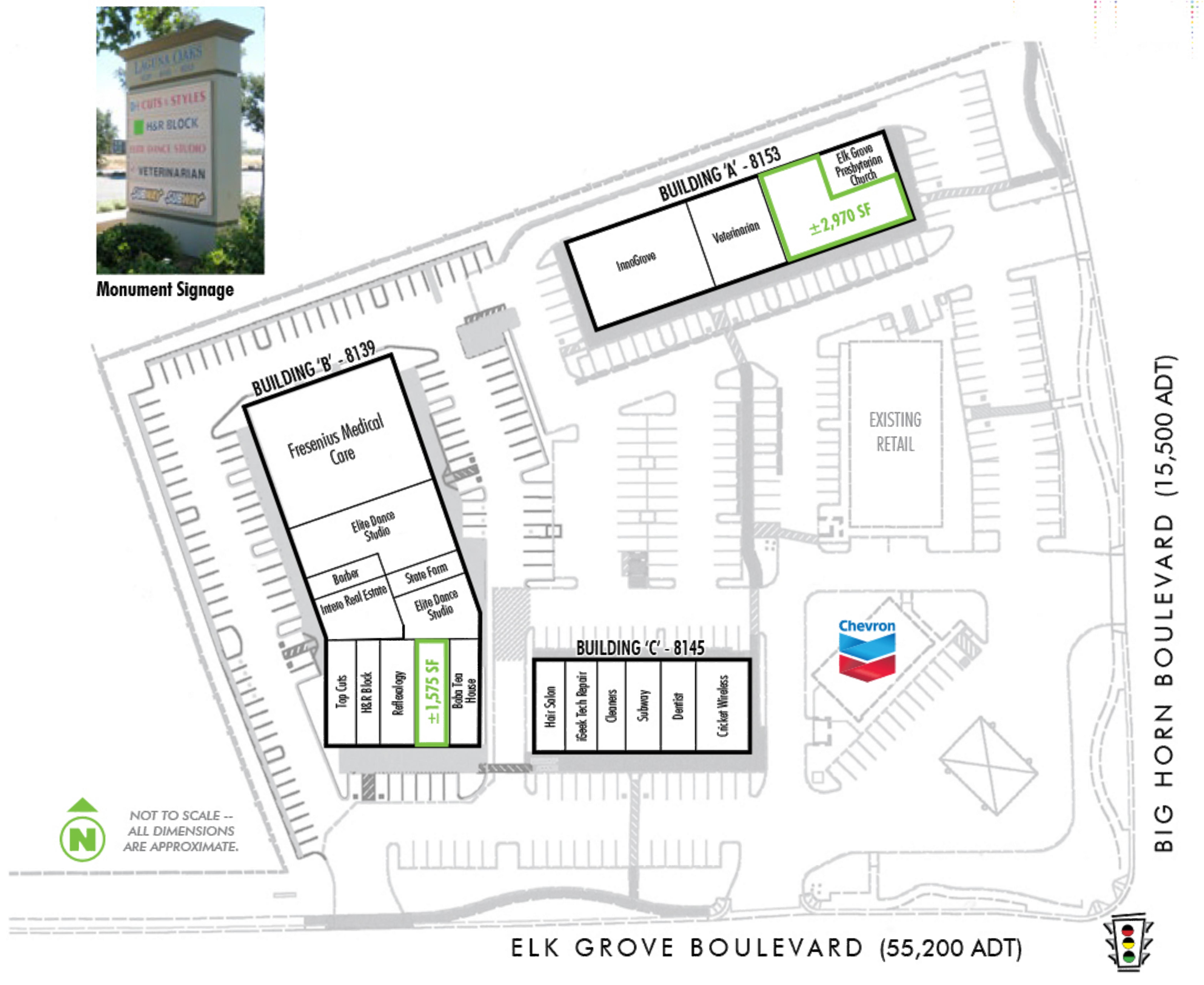 Laguna Oaks: site plan