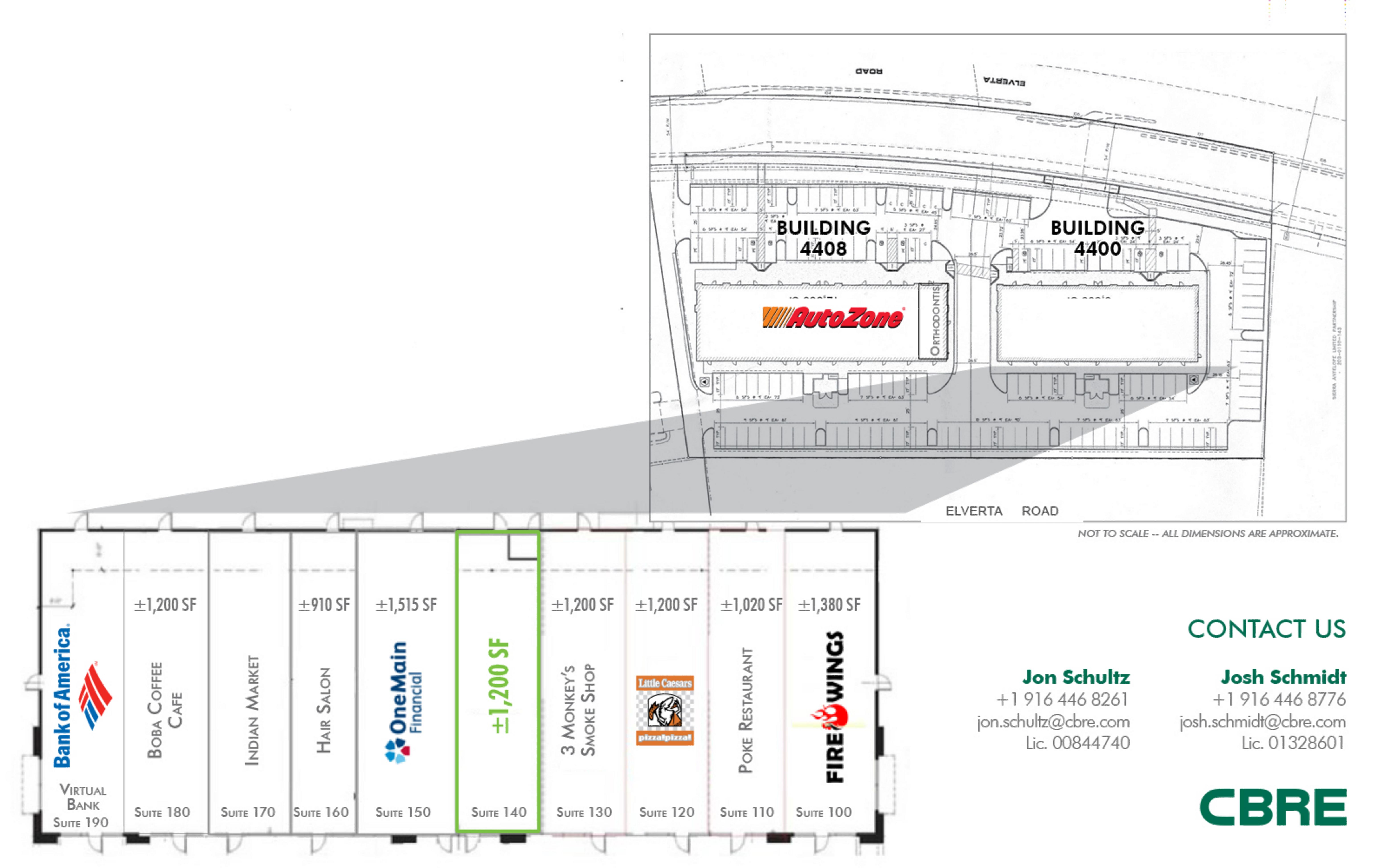 Antelope Creekside: site plan