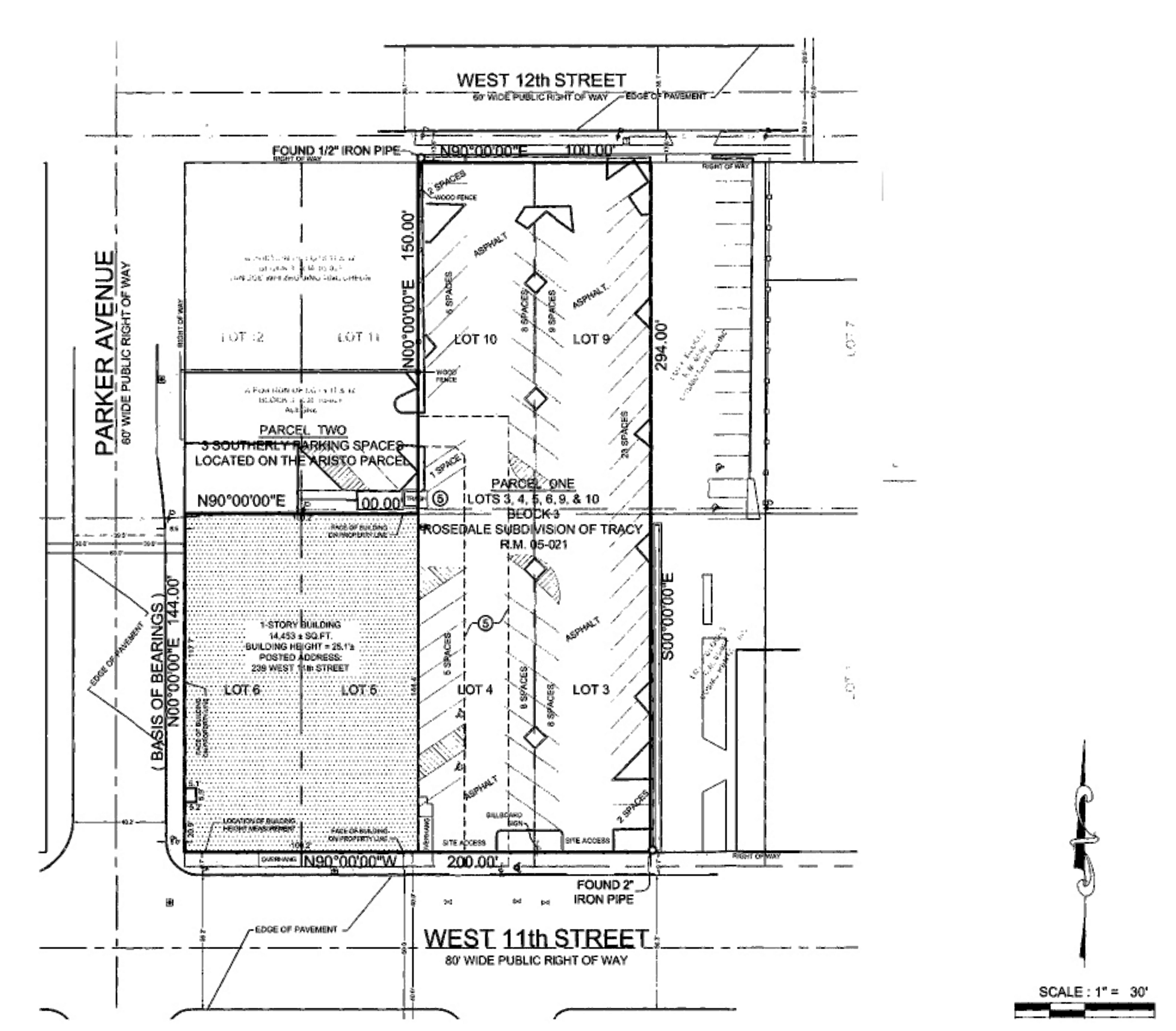 Former Fitness Facility - 239 W 11th St: site plan