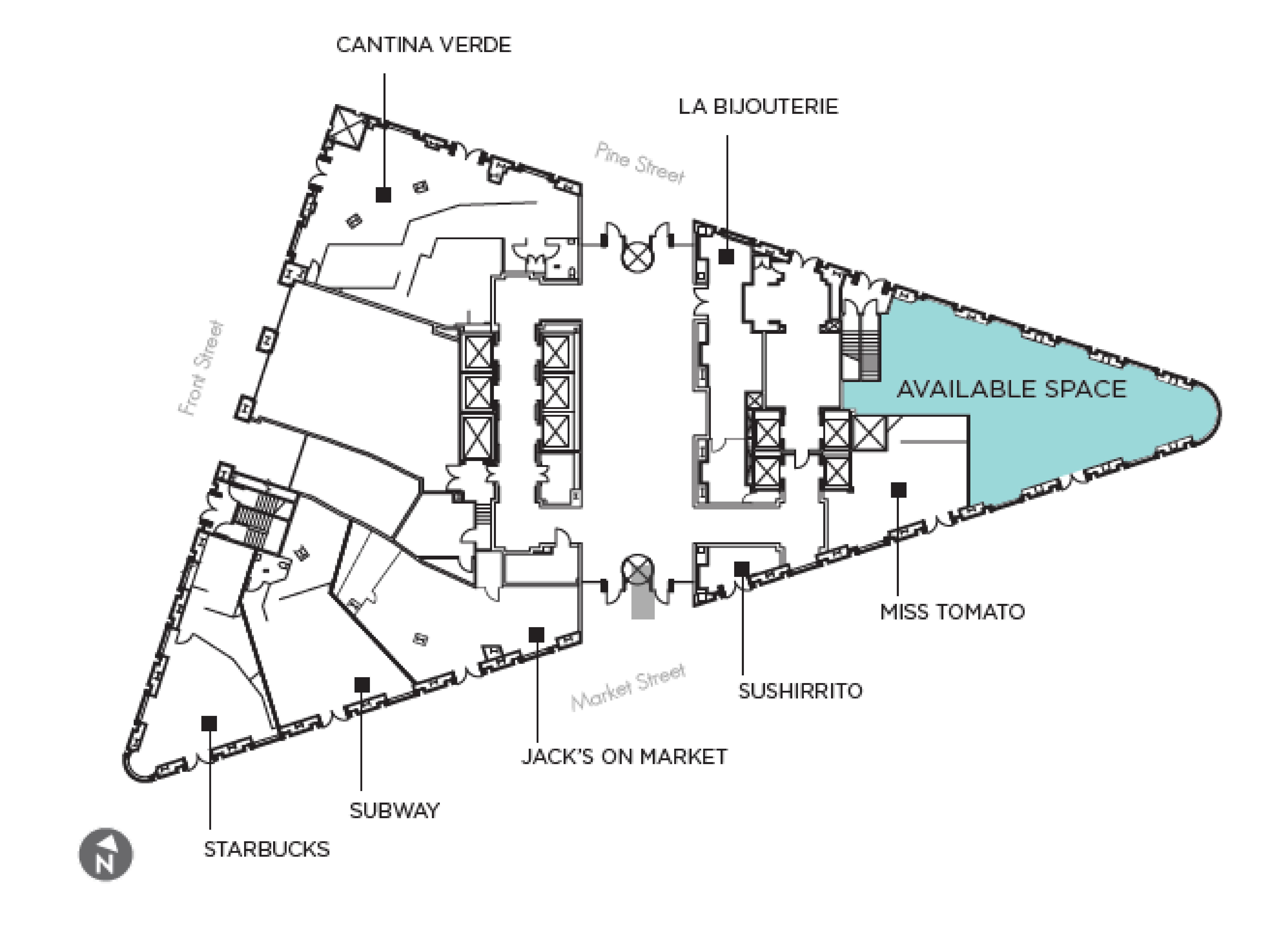 388 Market Street: site plan
