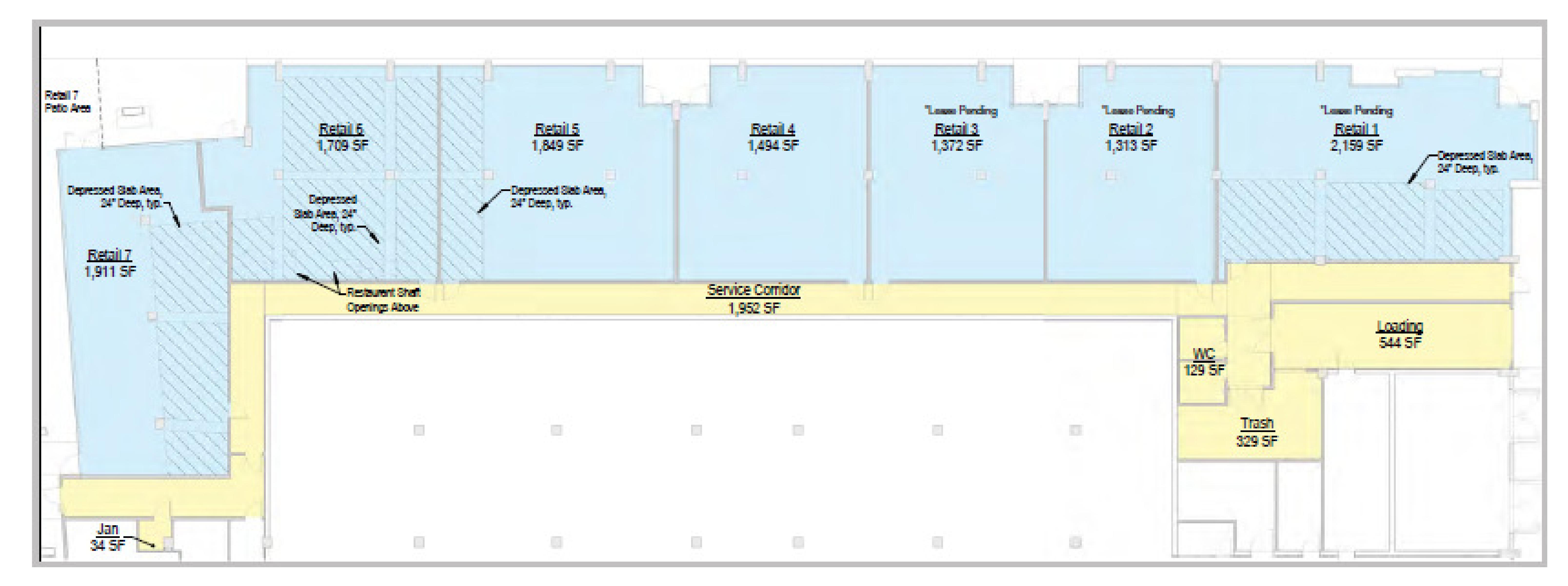 Five 88: site plan