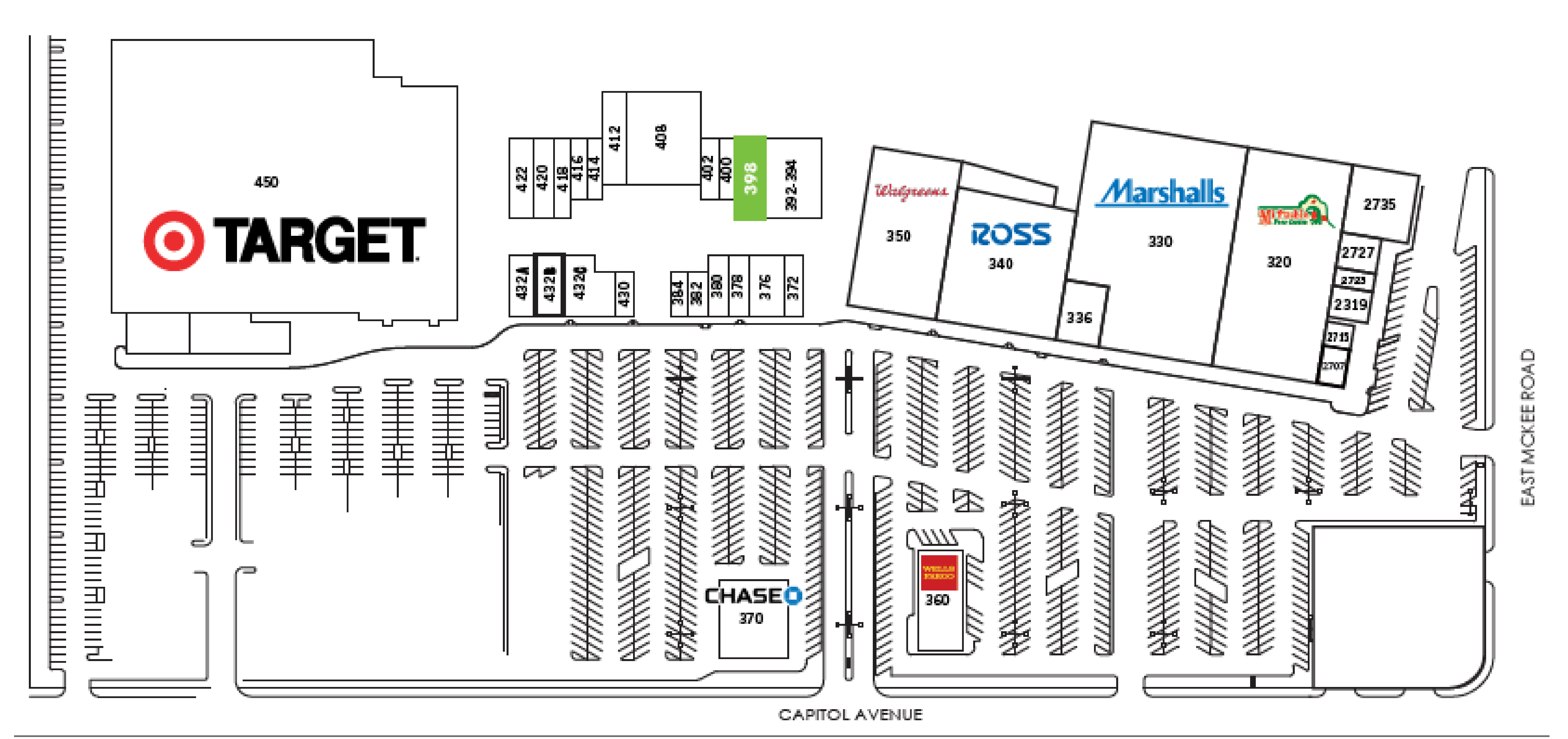 Capitol Square: site plan