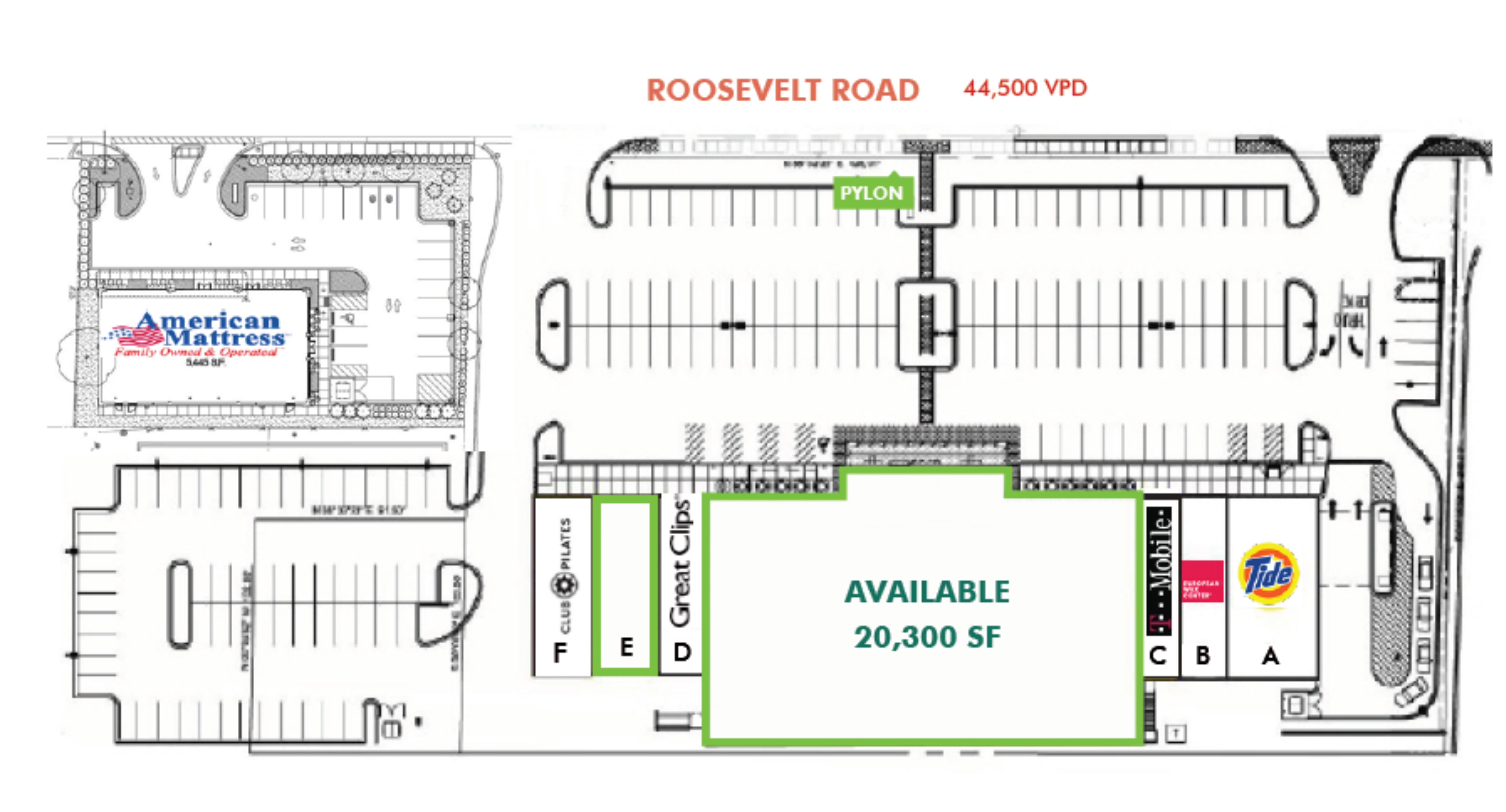 Fresh Market Center: site plan