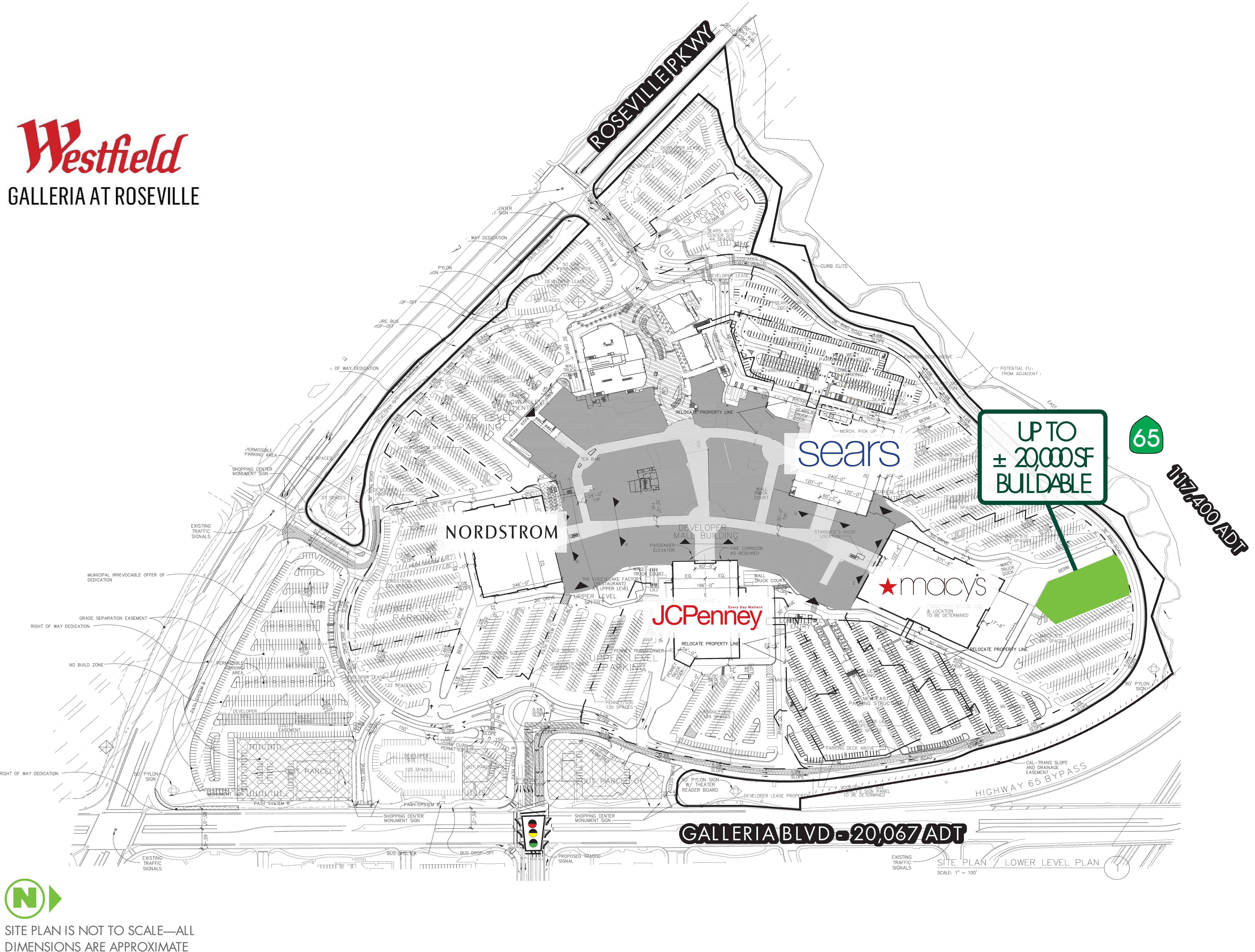 Arden Fair Mall - Macy's Outparcel: site plan