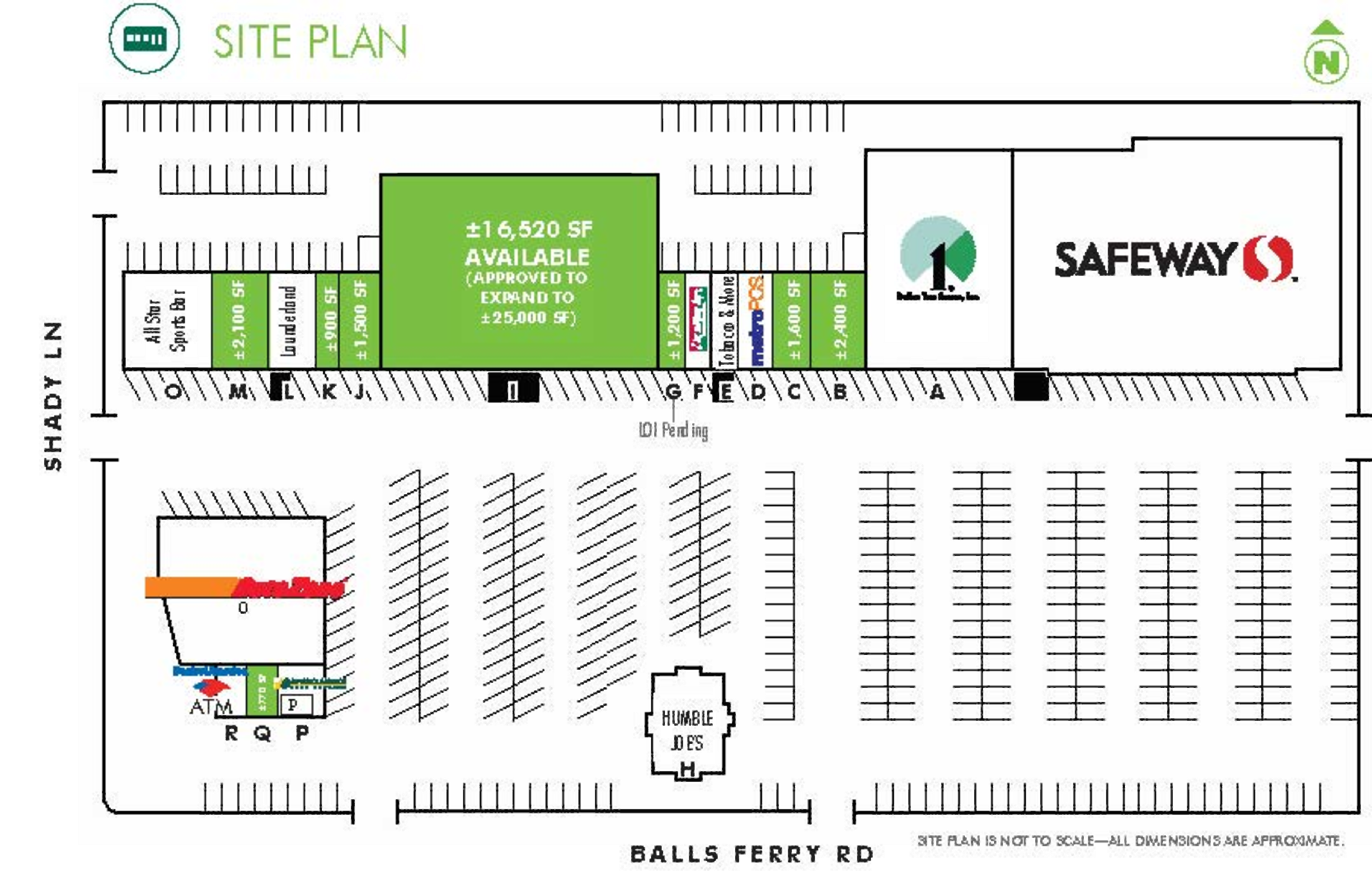 Anderson Square: site plan