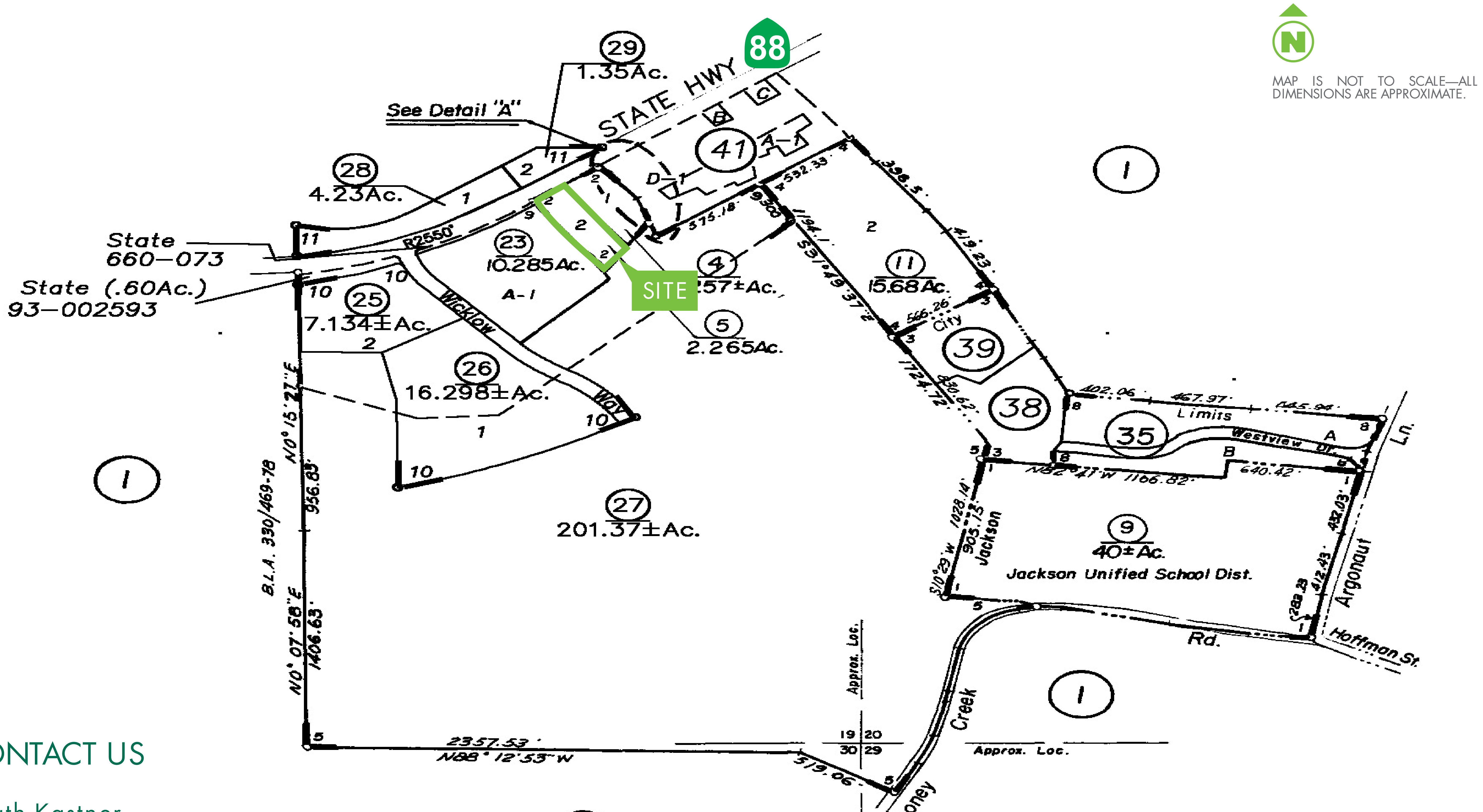 Retail/Commercial Land - 11930 Highway 88: site plan