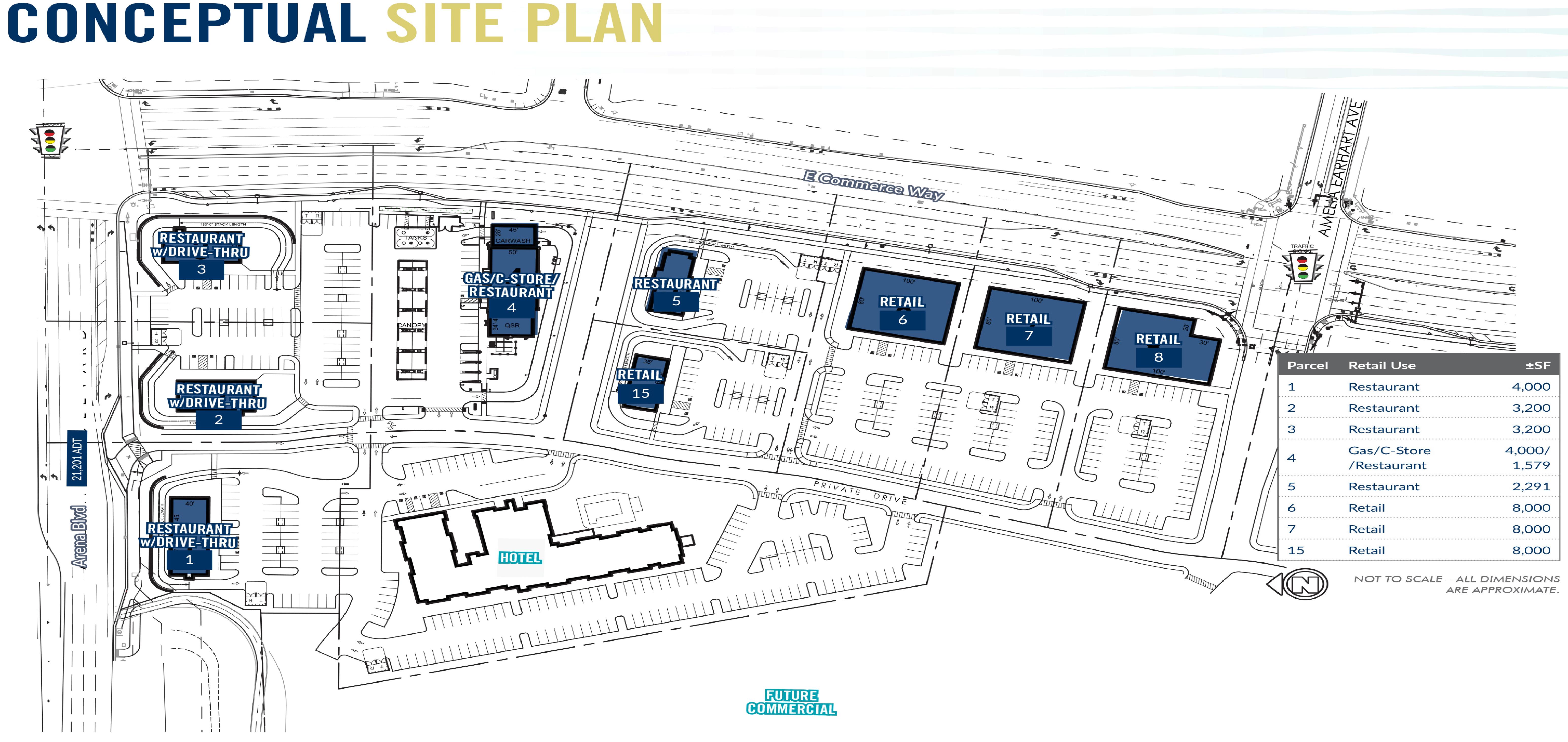 Natomas Crossing : site plan