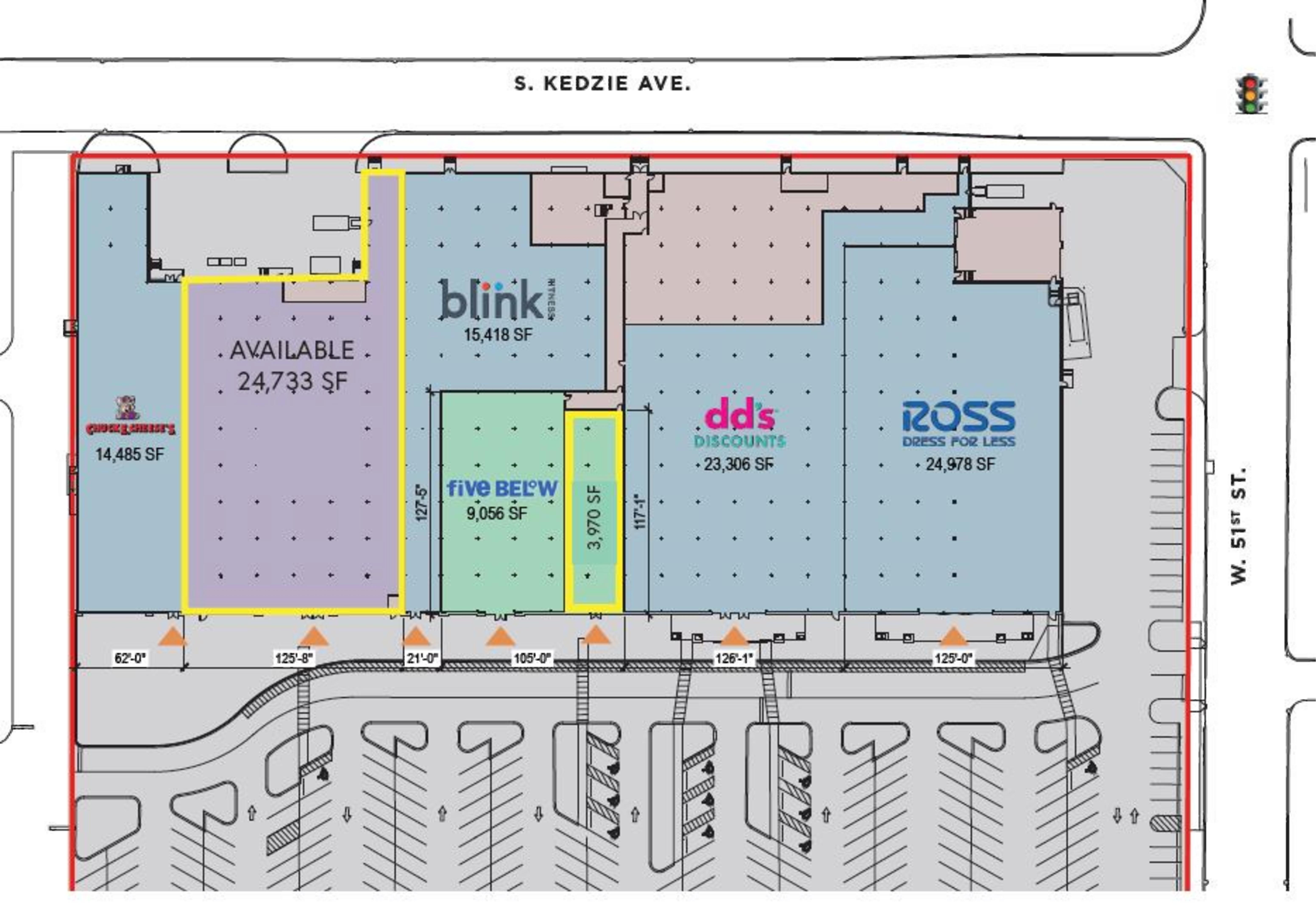 Kedzie Square: site plan