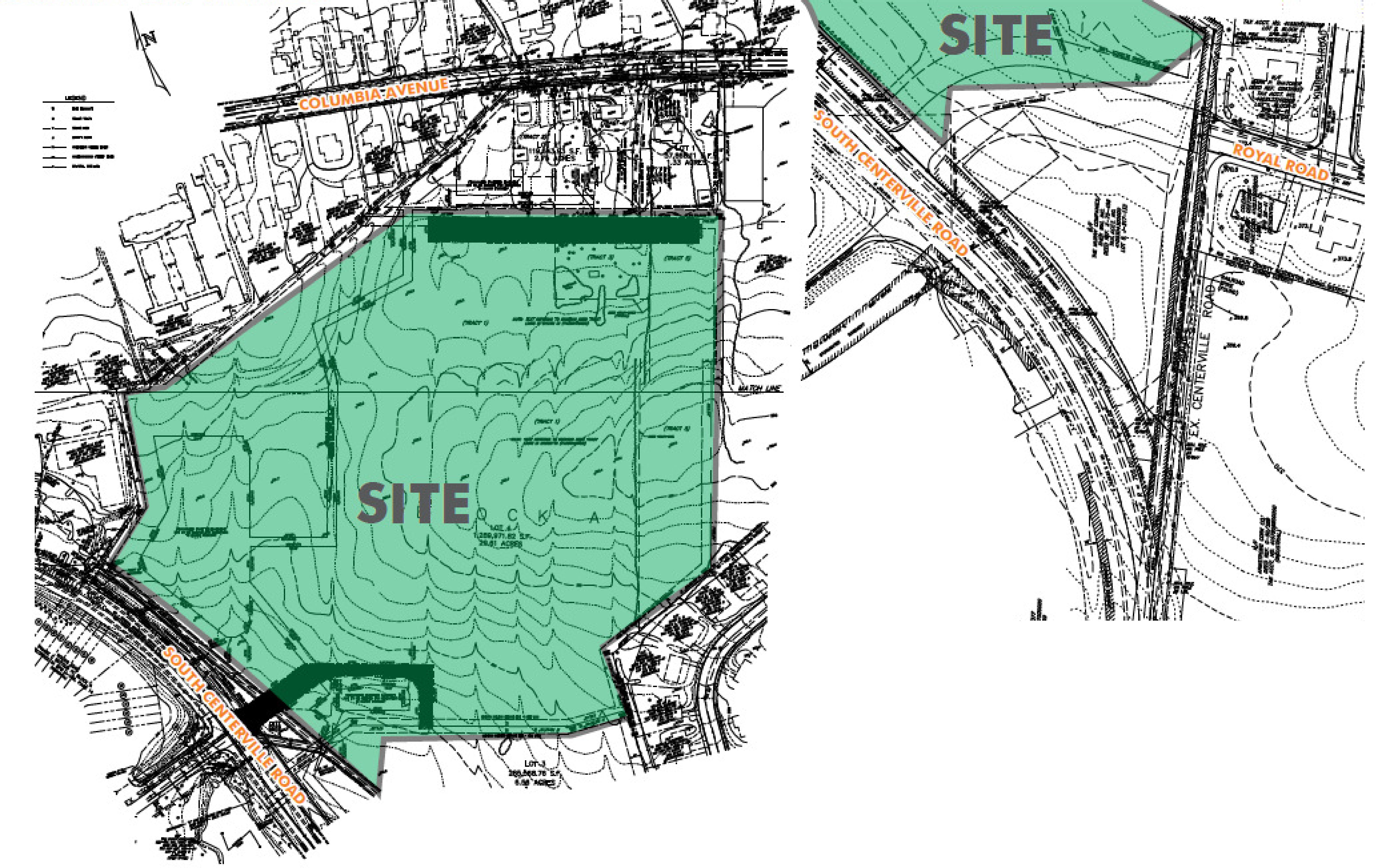 Lancaster, PA - Land For Sale: site plan