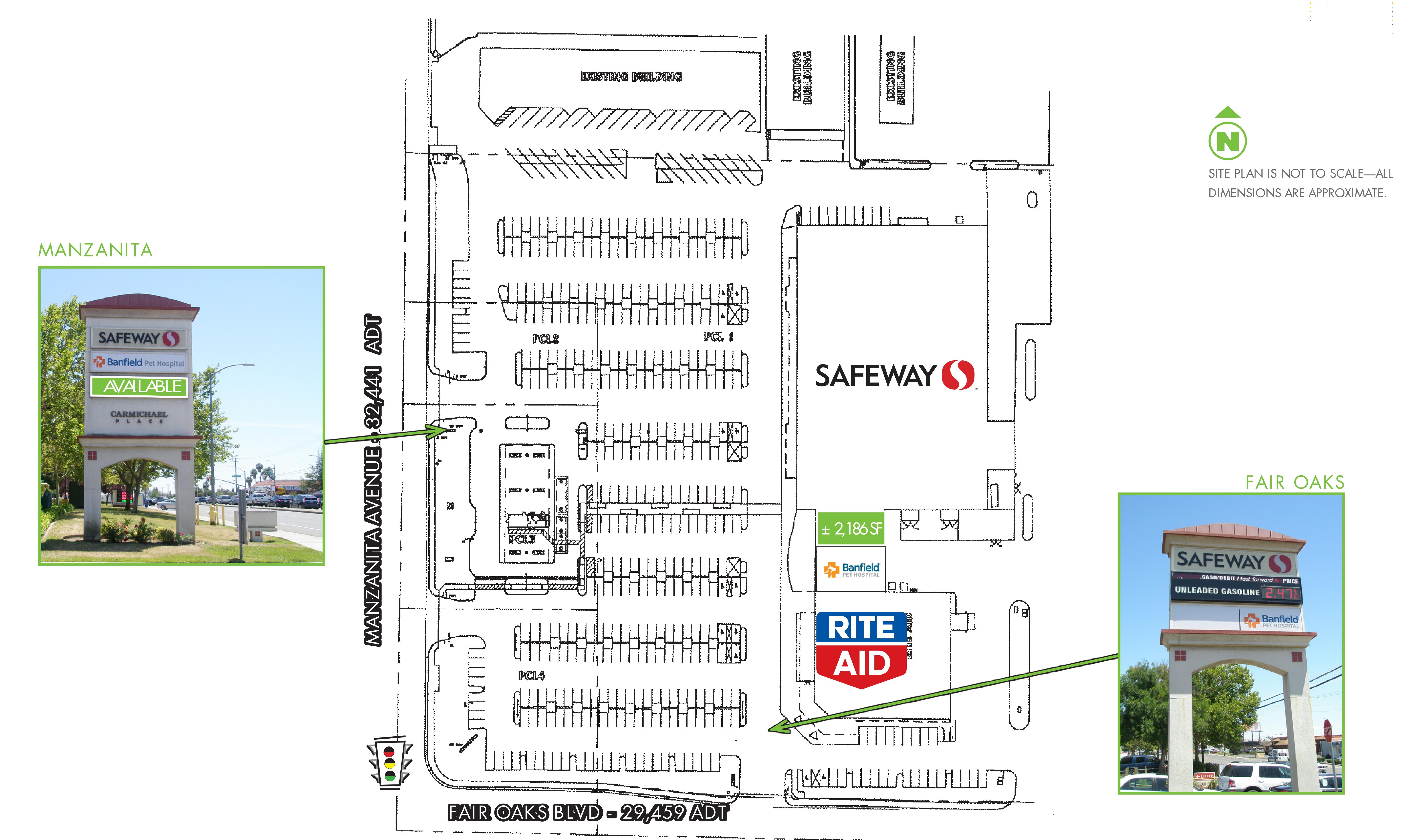 Carmichael Place: site plan