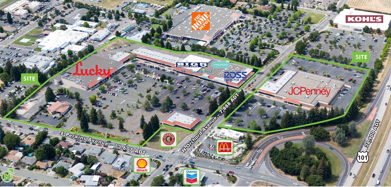 CBRE RetailPear Tree Center504-570 E Perkins Avenue & 205-253 N Orchard Avenue  Photo