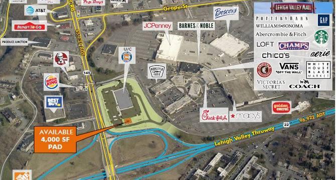 CBRE RetailLehigh Valley Mall Redevelopment250 Lehigh Valley Mall  Photo