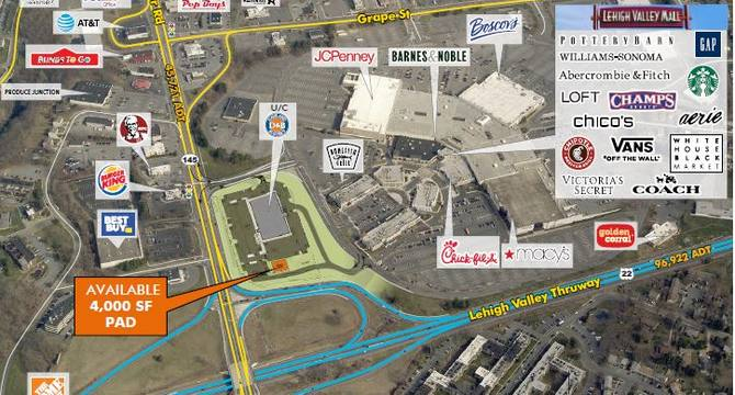 CBRE RetailLehigh Valley Mall Redevelopment 250 Lehigh Valley Mall  Photo