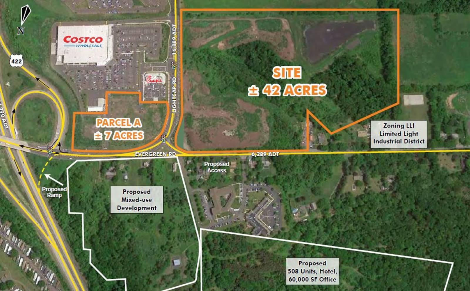 CBRE RetailSanatoga-Route 422 Corridor154-168 Evergreen Road  Photo