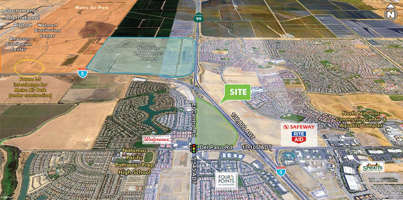 CBRE RetailDel Paso Land3413 Del Paso Road  Photo
