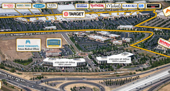 CBRE RetailPromenade & Sacramento Gateway3551-3690 North Freeway Boulevard  Photo