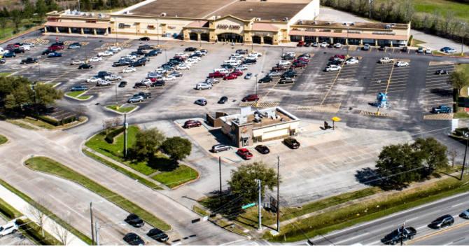 CBRE RetailFood Town Anchored Shopping Center  Photo