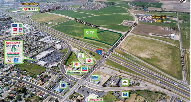 CBRE RetailHighway Commercial Pad - I-5 & LathropSWQ I-5 & Lathrop Road  Photo