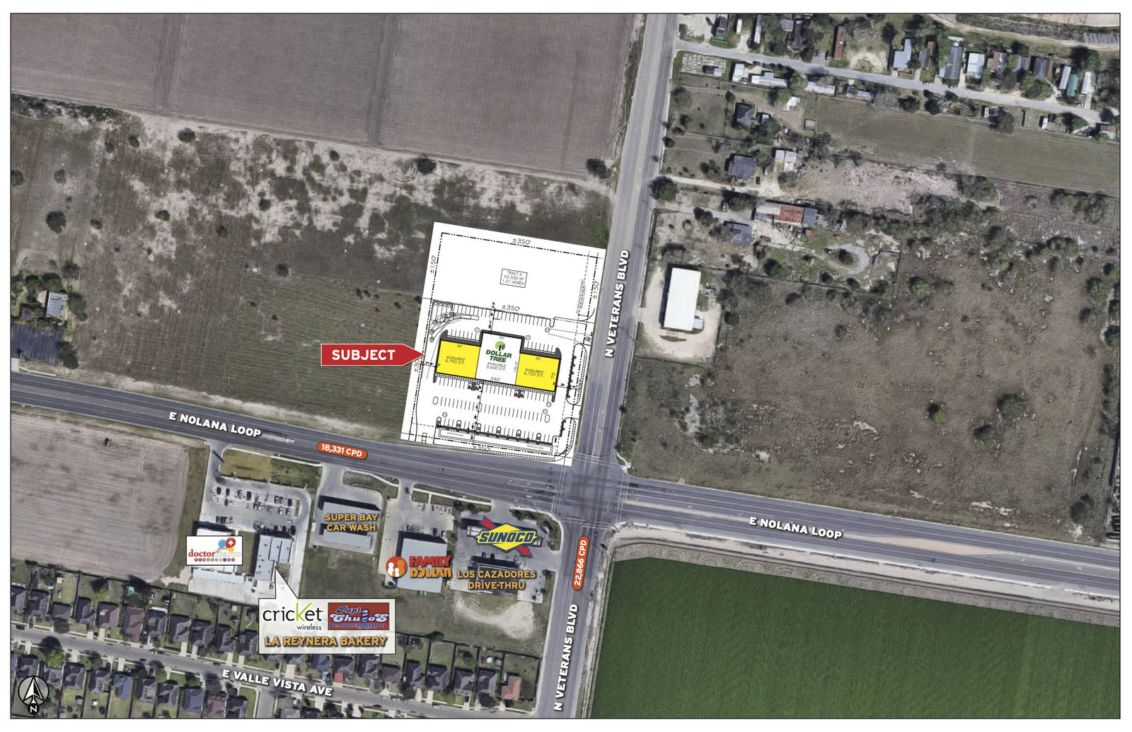 CBRE RetailDollar Tree Plaza - North PharrE Nolana Loope & N Veterans Blvd  Photo