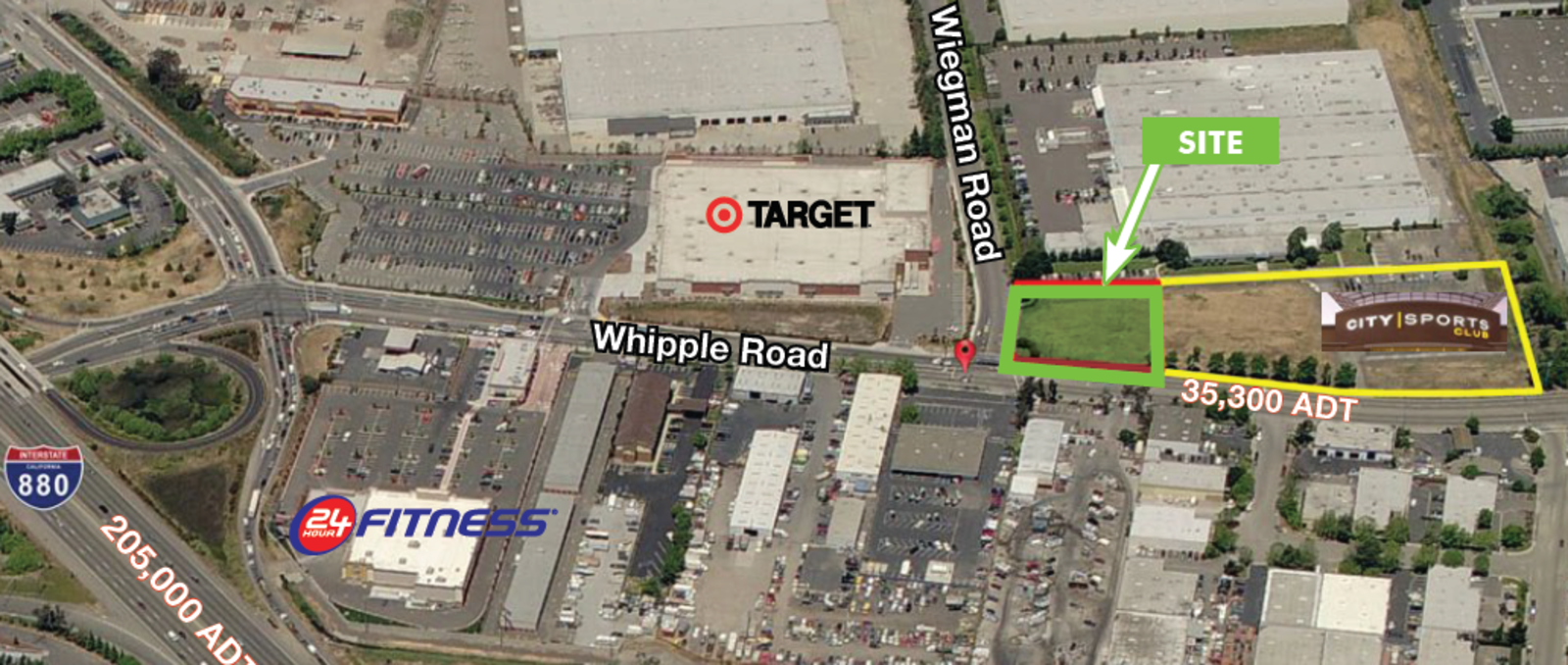 CBRE RetailWhipple Road & Wiegman RoadWhipple Road & Wiegman Road  Photo