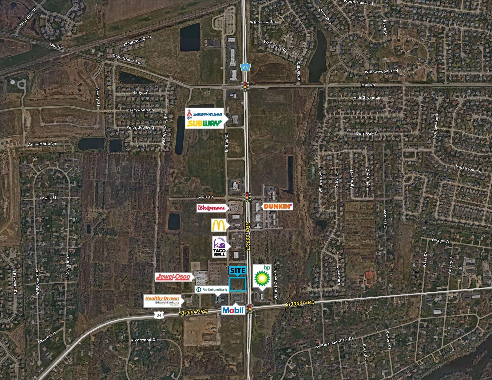 CBRE RetailRetail OutparcelNWC Route 34 & Orchard Rd  Photo