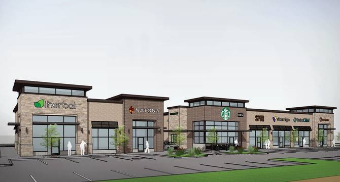 CBRE RetailPanther Creek CrossingSWQ Dallas North Tollway & Panther Creek Pkwy  Photo