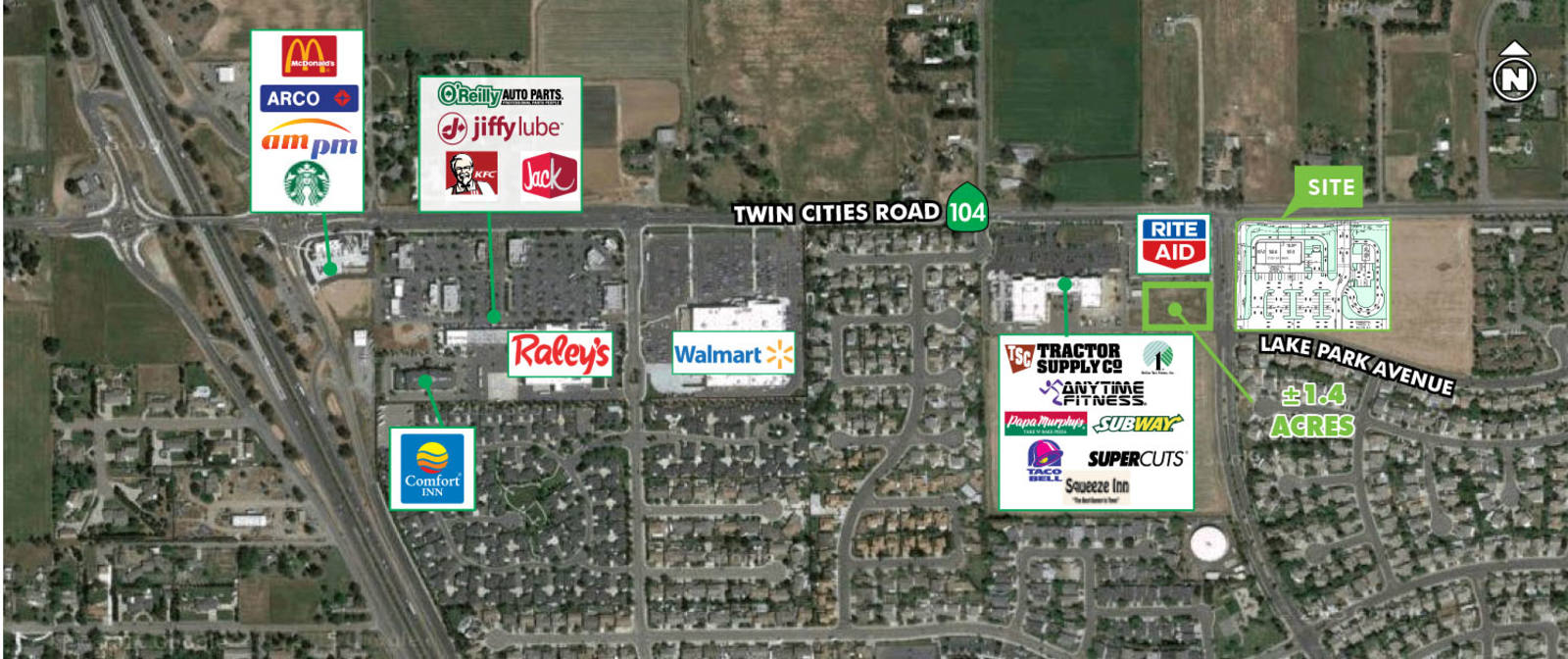 CBRE RetailCarillion Corners Phase IISEC Twin Cities Road & Carillion Boulevard  Photo