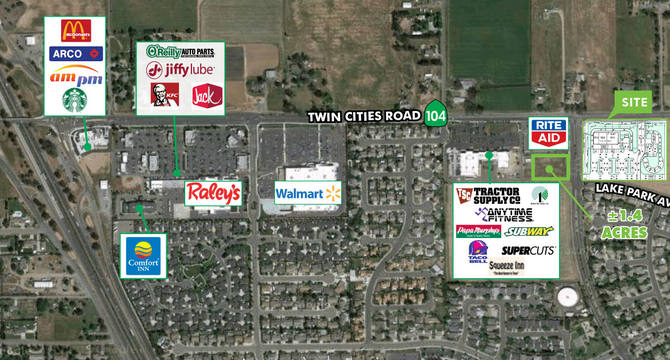 CBRE RetailCarillion Corners Phase IISEC Twin Cities Road & Carillion Boulevard  Photo