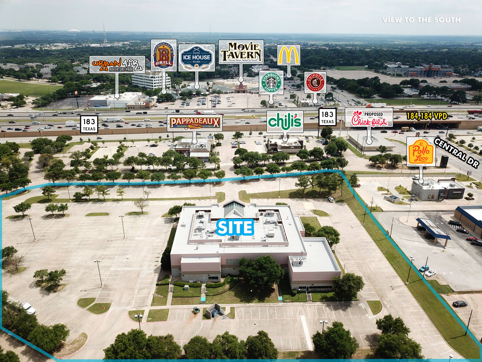 CBRE RetailBedford Redevelopment Opportunity2100 Plaza Parkway  Photo