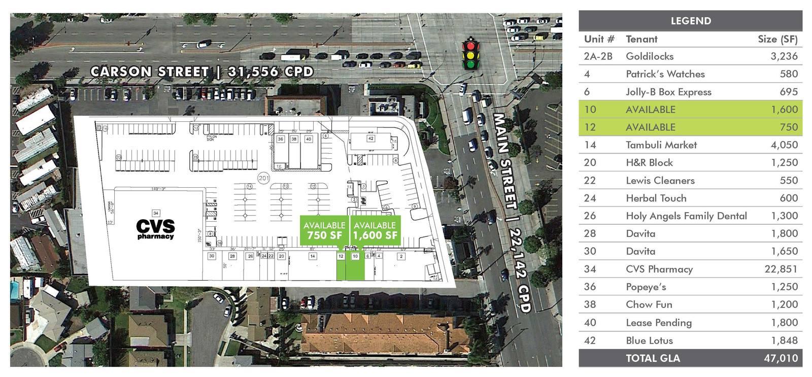 CBRE RetailCARSON SHOPPING CENTER100-168 WEST CARSON STREET  Photo