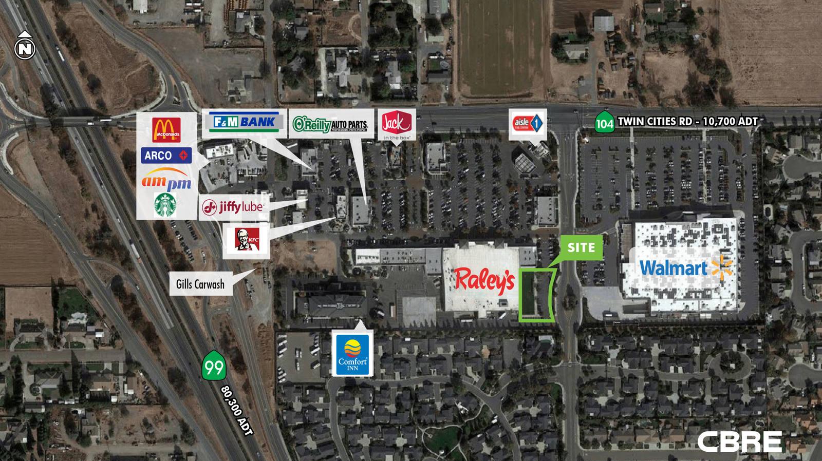 CBRE RetailGalt Village ParcelTwin Cities Rd & Hwy 99  Photo