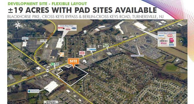 CBRE Retail19 Acres With Pad Sites AvailableBlackhorse Pike, Cross Keys Bypass & Berlin-Cross Keys Road  Photo