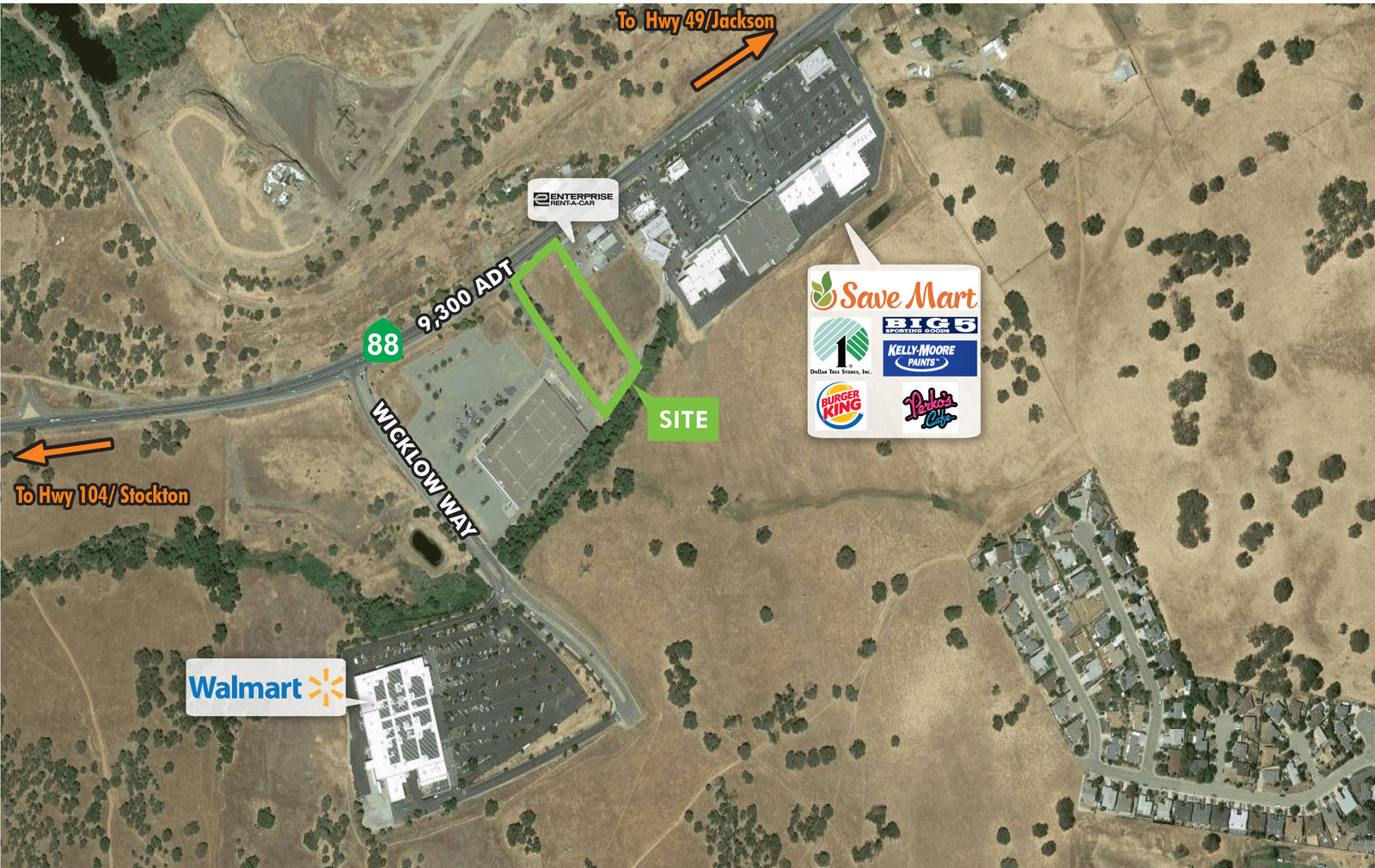 CBRE RetailRetail/Commercial Land - 11930 Highway 8811930 State Highway 88  Photo