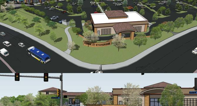 CBRE RetailAgora at Stone RidgeNWC East Roseville & Secret Ravine Parkways  Photo