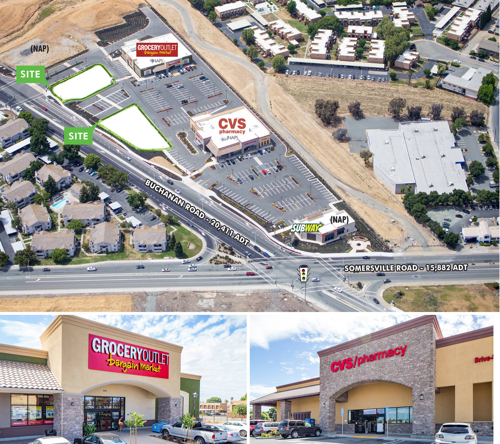 CBRE RetailBuchanan Crossing (Land)NWC Buchanan & Somersville Roads  Photo