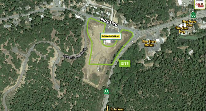 CBRE RetailHighway Commercial Land - Hwy 88 & Ridge RdNWC Highway 88 & Ridge Road  Photo