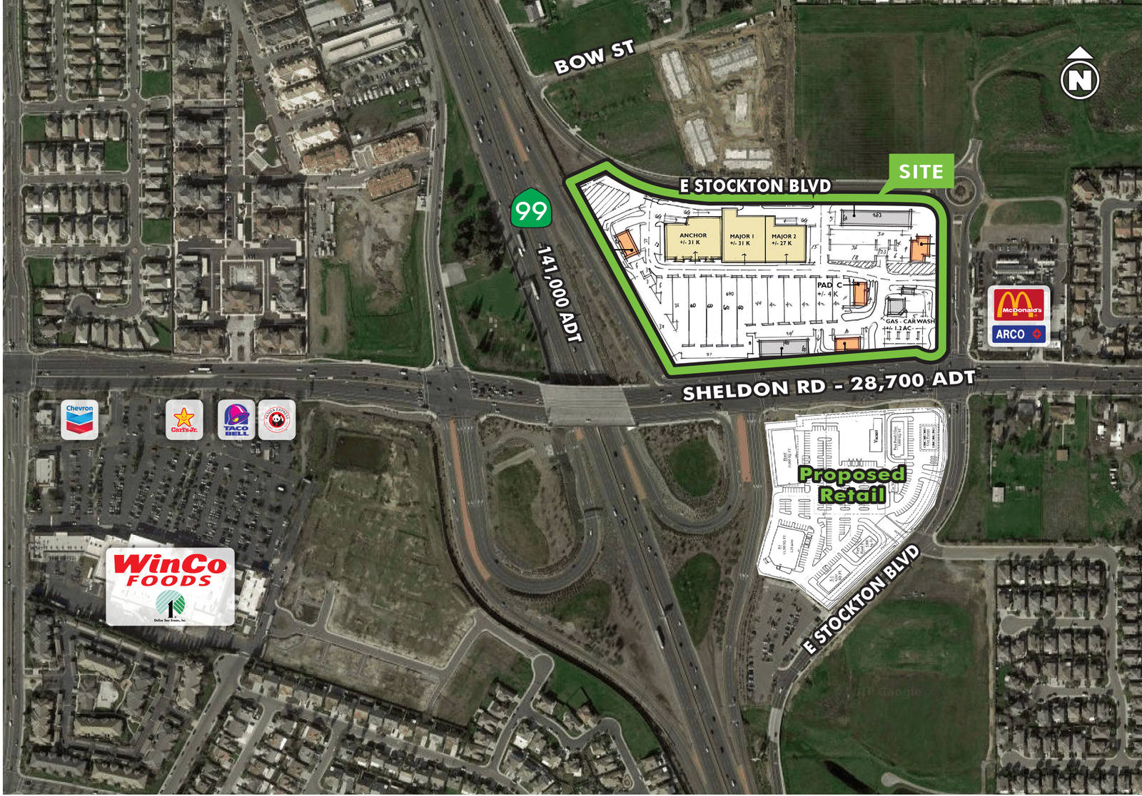 CBRE RetailSheldon CrossingNWC Sheldon Road & E. Stockton Boulevard  Photo