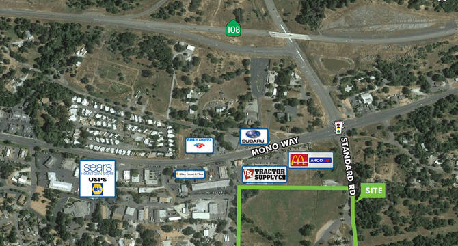 CBRE RetailHigh Identity Commercial Land - SonoraSWC Mono Way & Standard Road  Photo