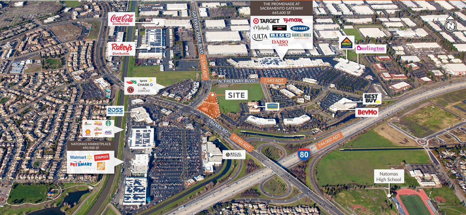 CBRE RetailTruxel & GatewaySWC Truxel Rd & Gateway Park Blvd  Photo